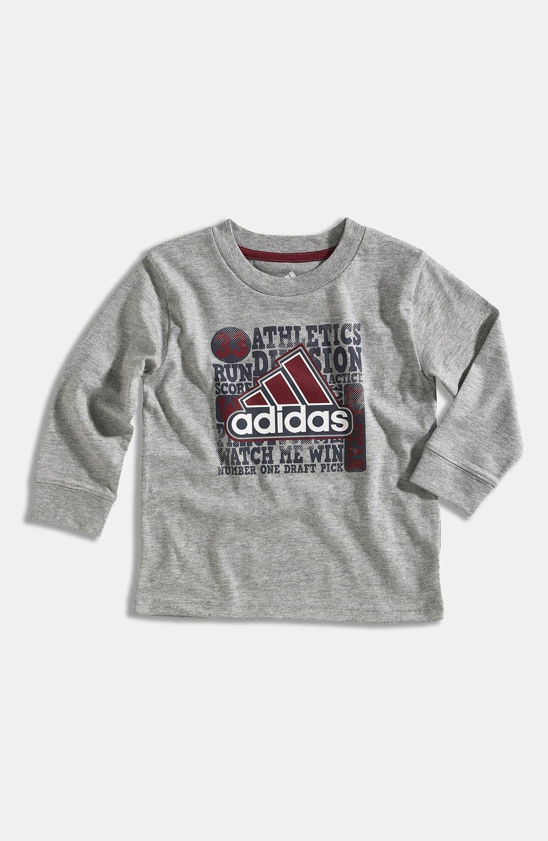 Main Image - adidas 'Type Performance' T-Shirt (Infant)