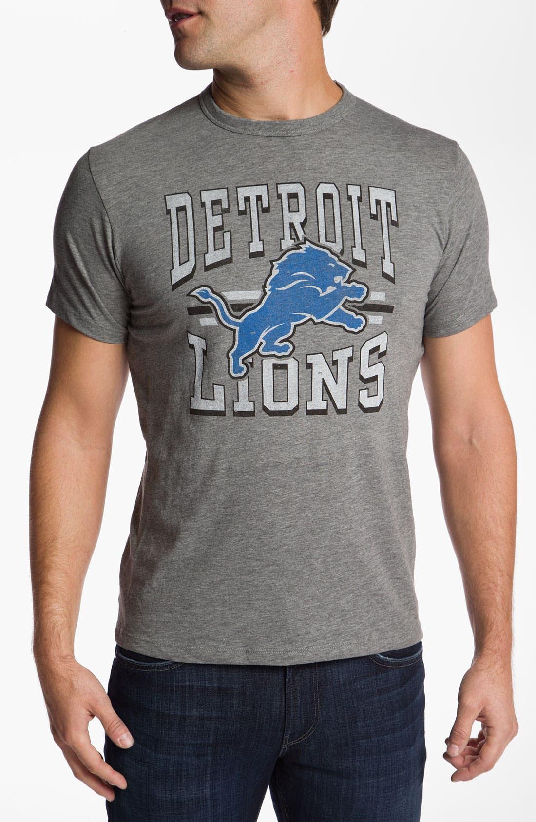 Main Image - Banner 47 'Detroit Lions' Slubbed Crewneck T-Shirt