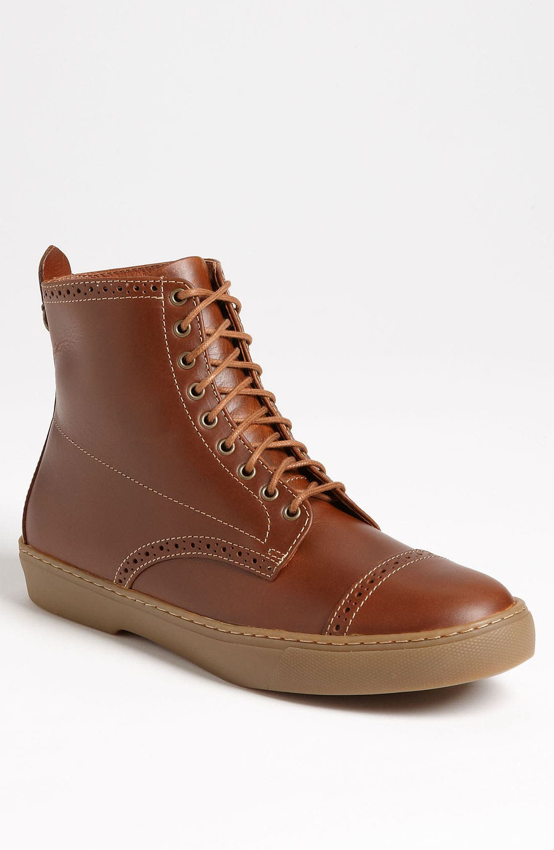 Alternate Image 1 Selected - Fred Perry 'Donahue' Cap Toe Boot
