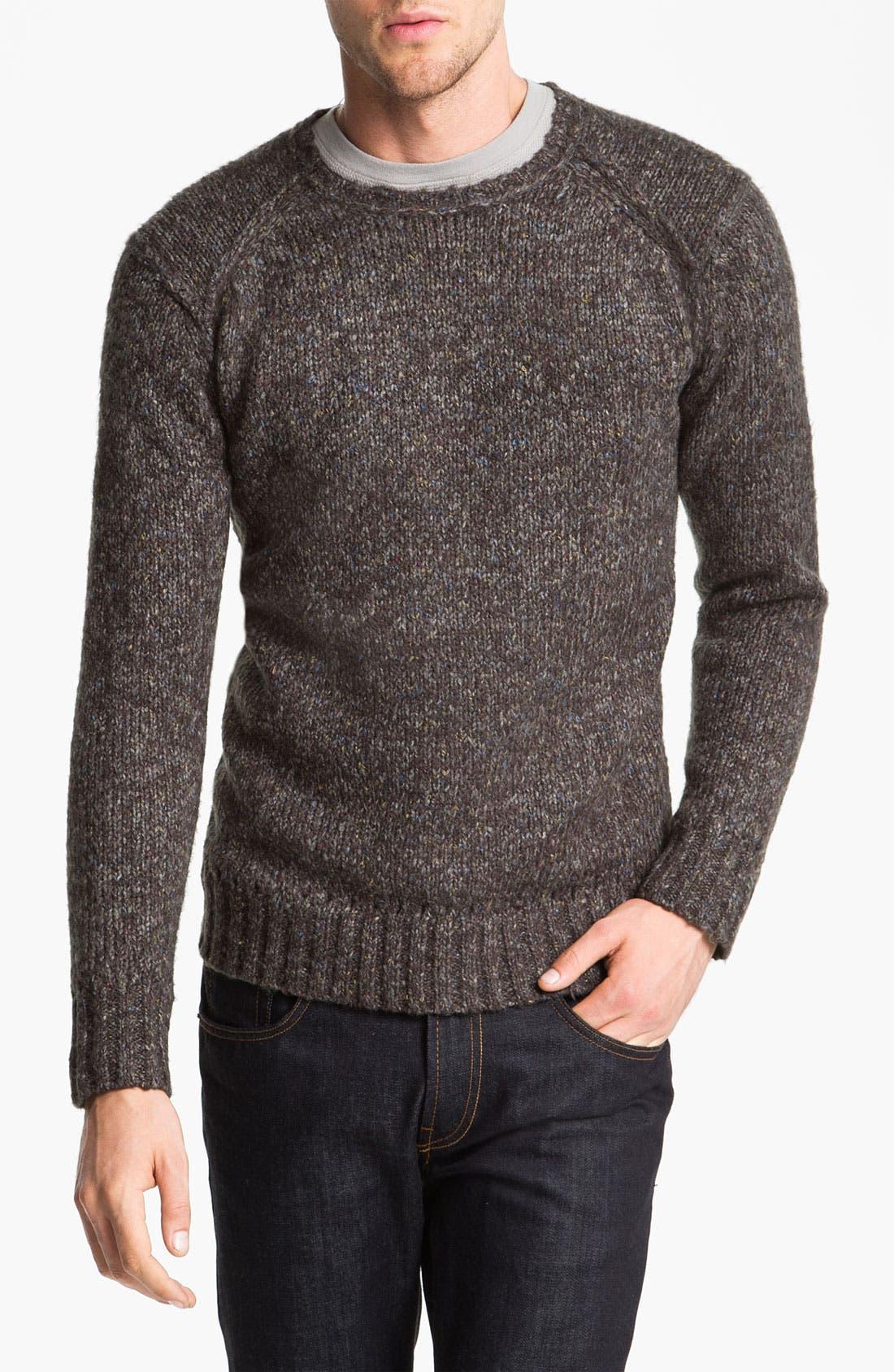 Alternate Image 1 Selected - life/after/denim 'Malpensa' Crewneck Sweater