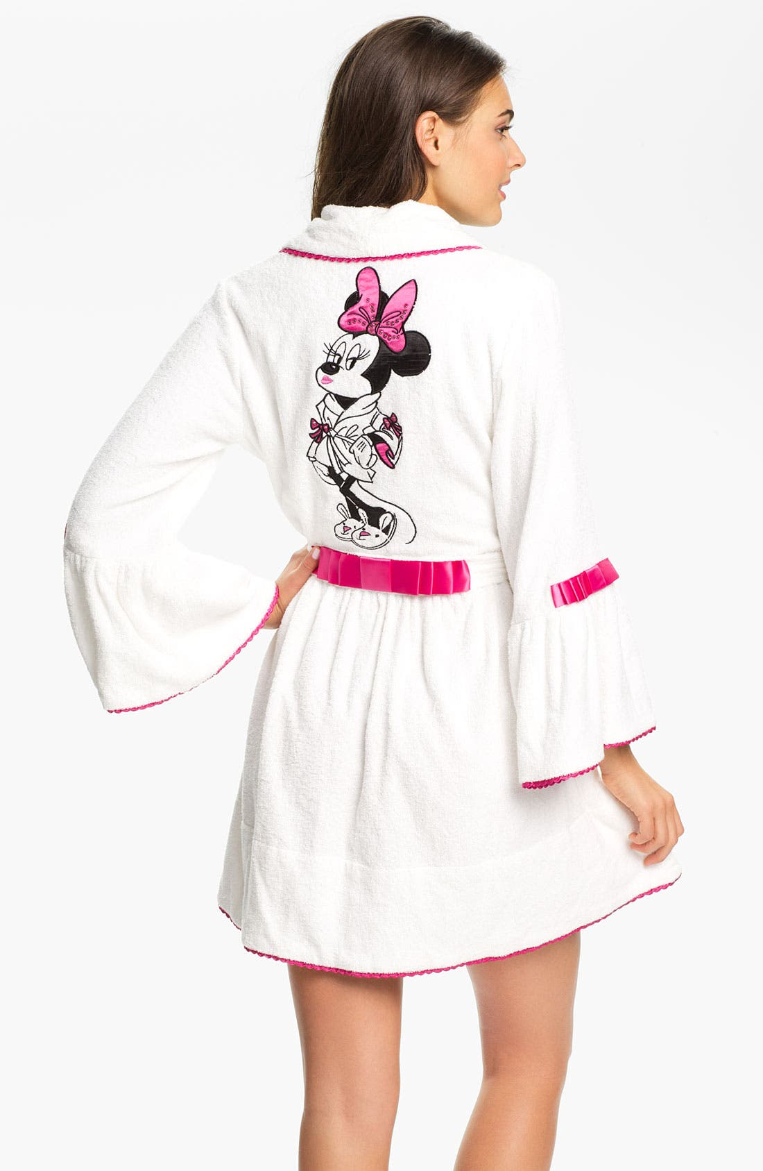 Alternate Image 1 Selected - Betsey Johnson 'Minnie' Terry Robe