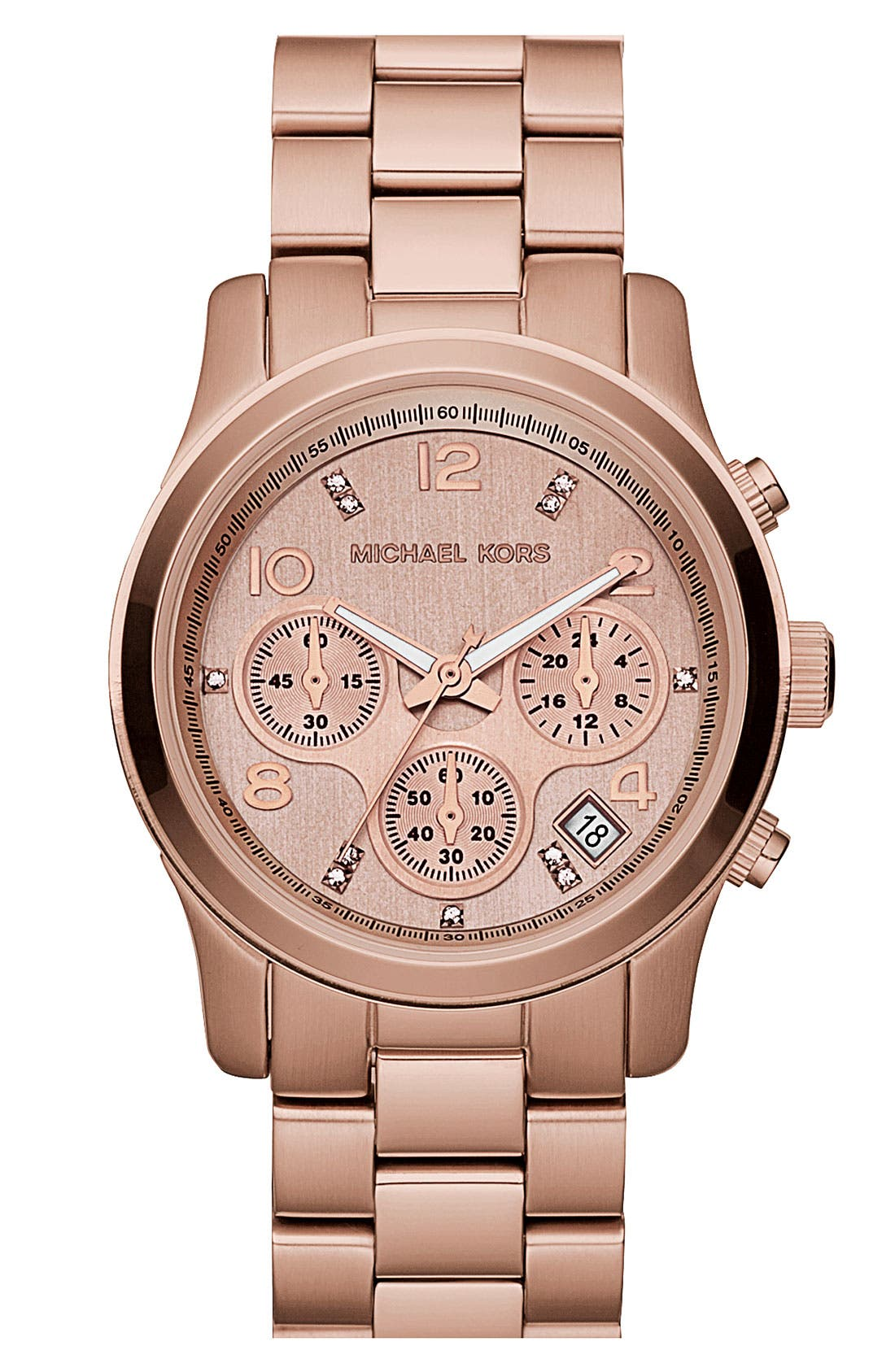 Alternate Image 6  - Michael Kors 'Runway' Boxed Watch Set