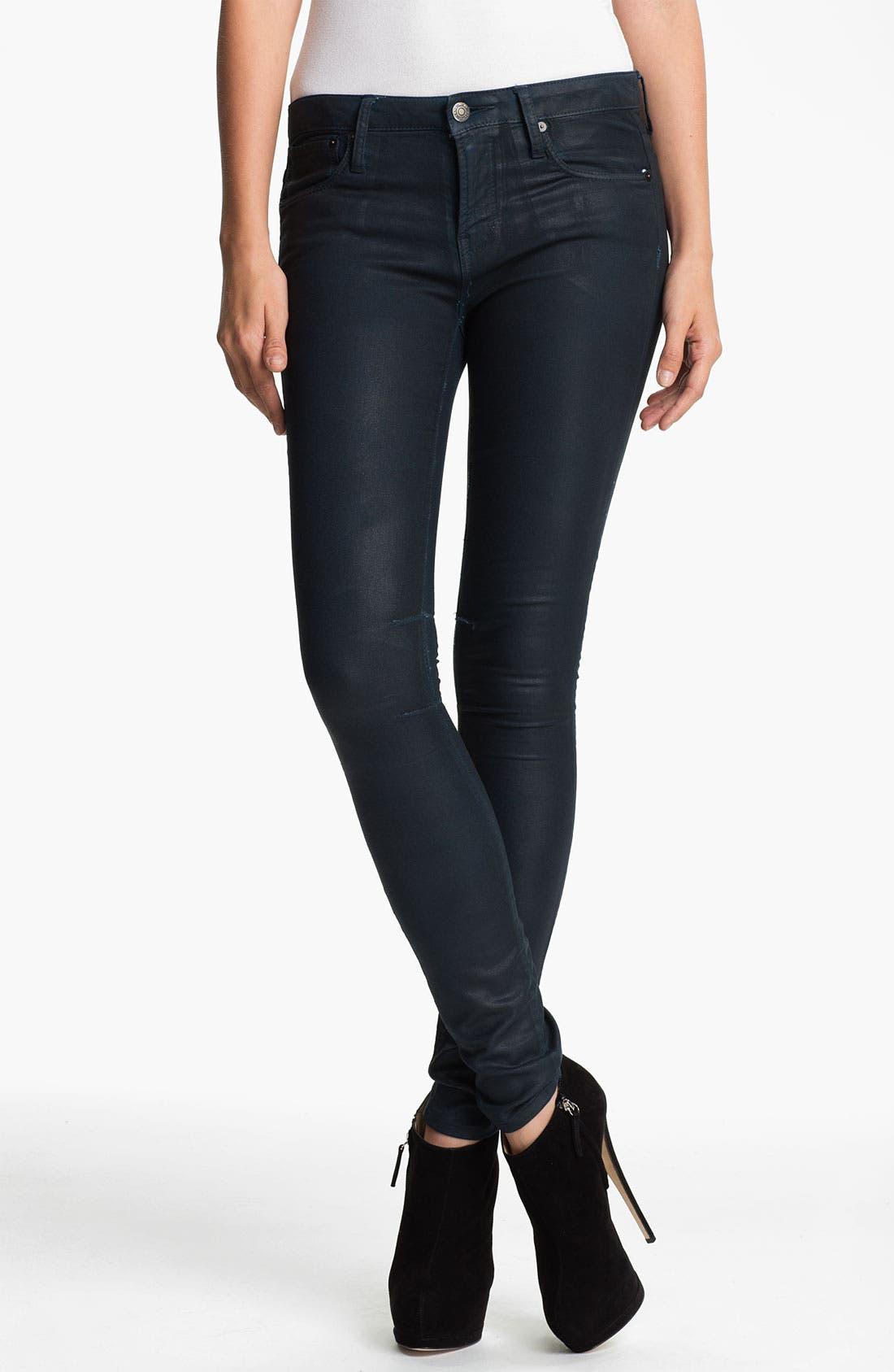 Alternate Image 2  - HELMUT Helmut Lang 'Gloss' Skinny Jeans