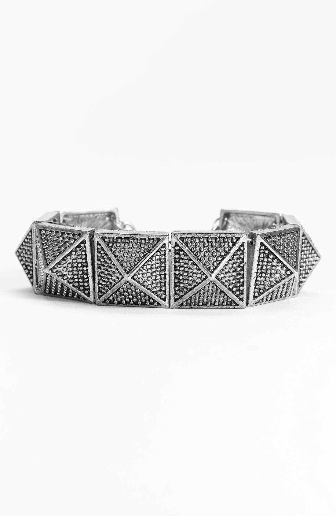 Main Image - Carole Pyramid Studded Bracelet