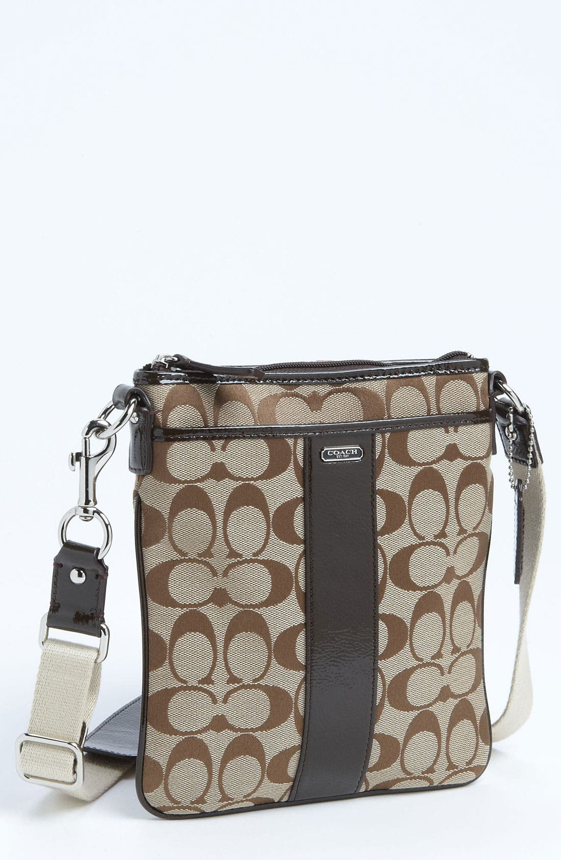 Main Image - COACH 'Signature - Swingpack' Crossbody Bag