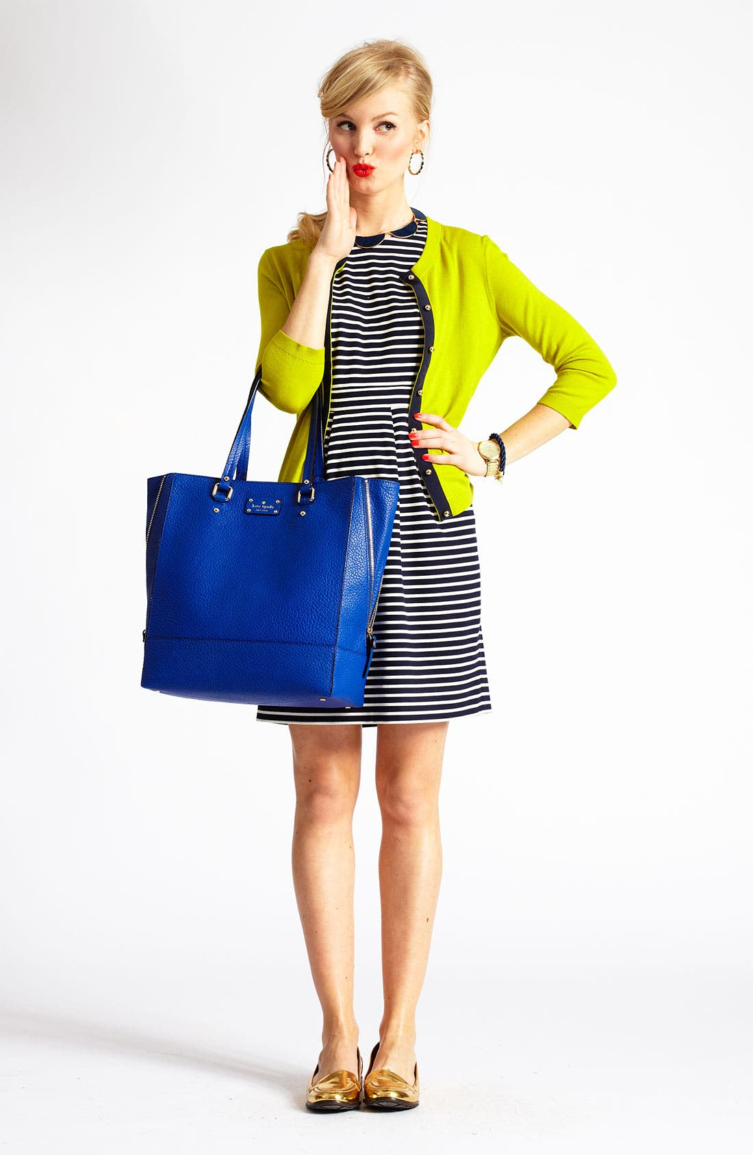 Alternate Image 4  - kate spade new york 'jeremy' cardigan
