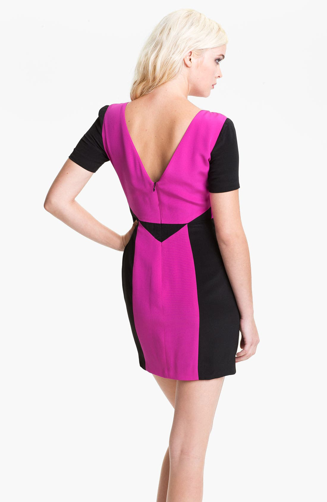 Alternate Image 2  - Rebecca Minkoff 'Crystal' Colorblock Dress