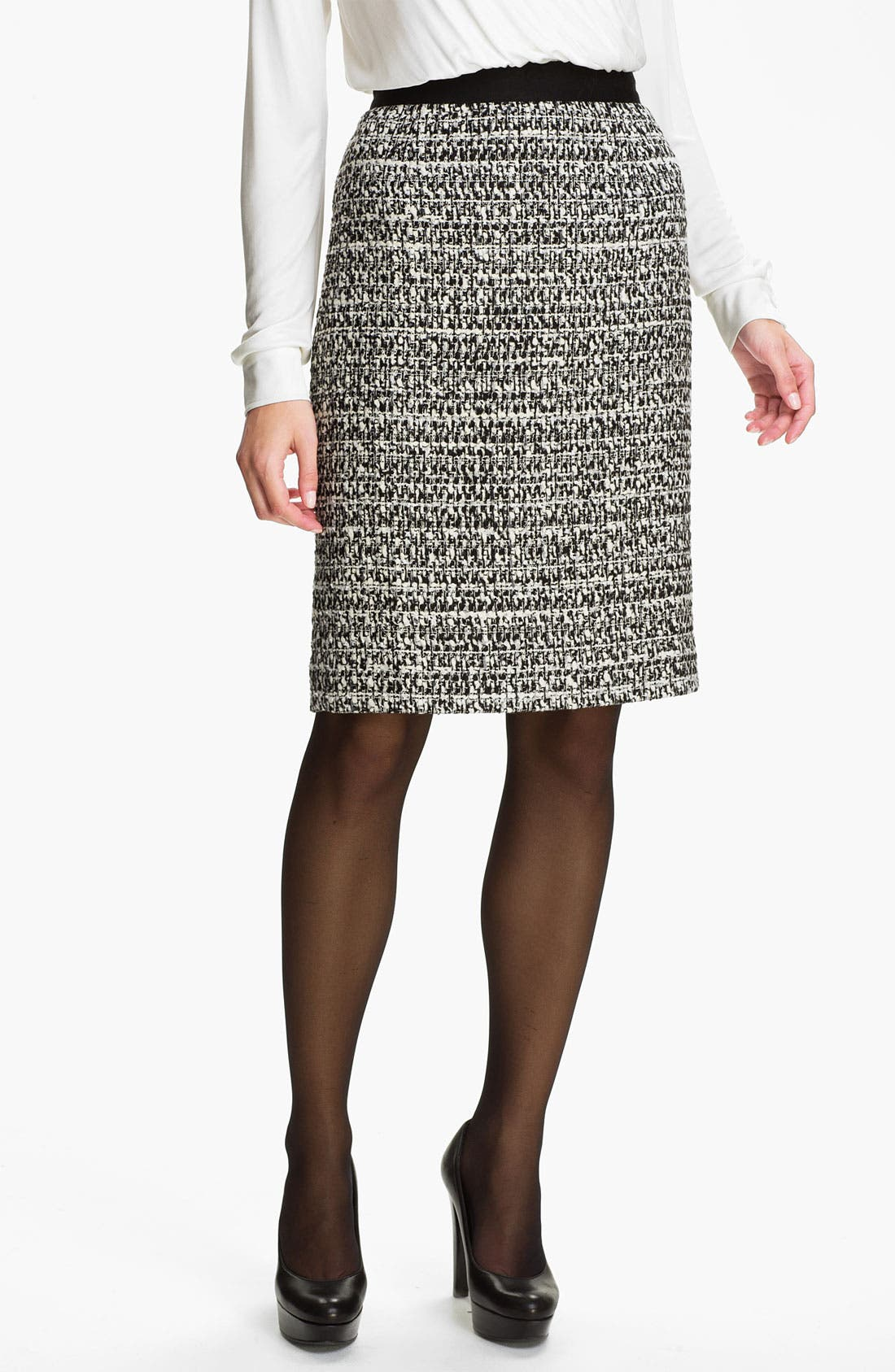 Main Image - Classiques Entier® 'Roma' Tweed Skirt