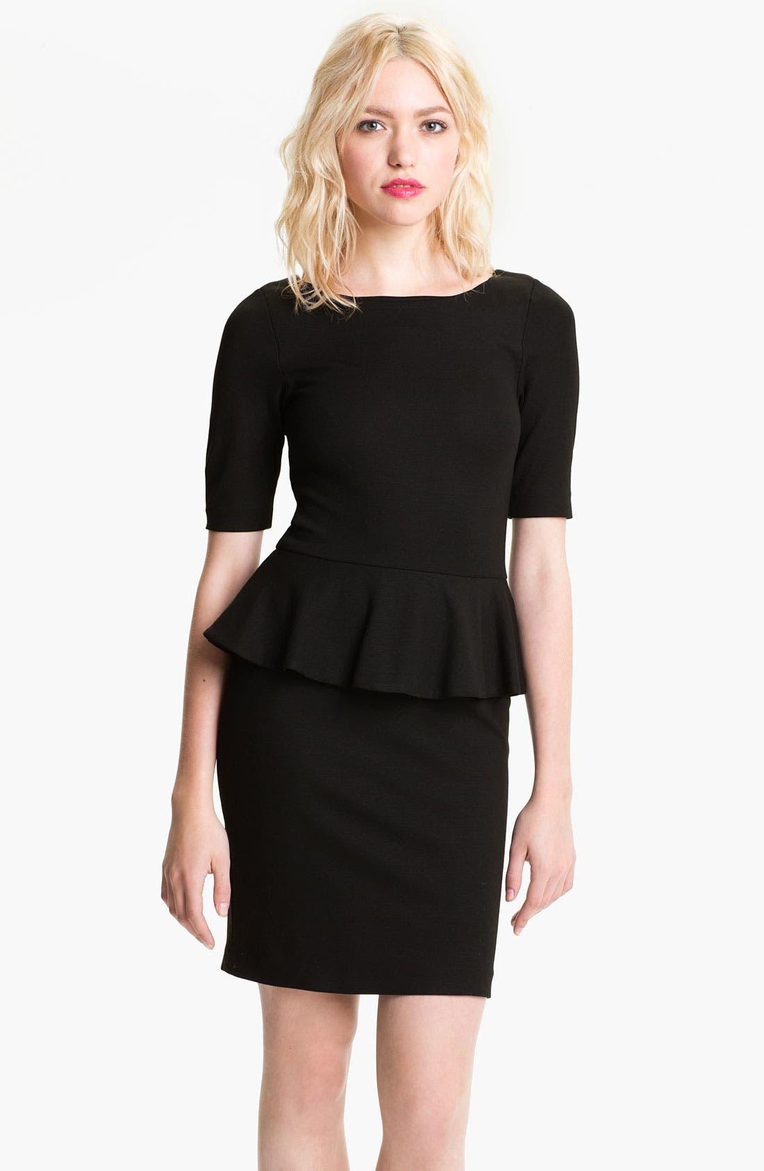 Alternate Image 1 Selected - Ella Moss 'Emily' Peplum Dress
