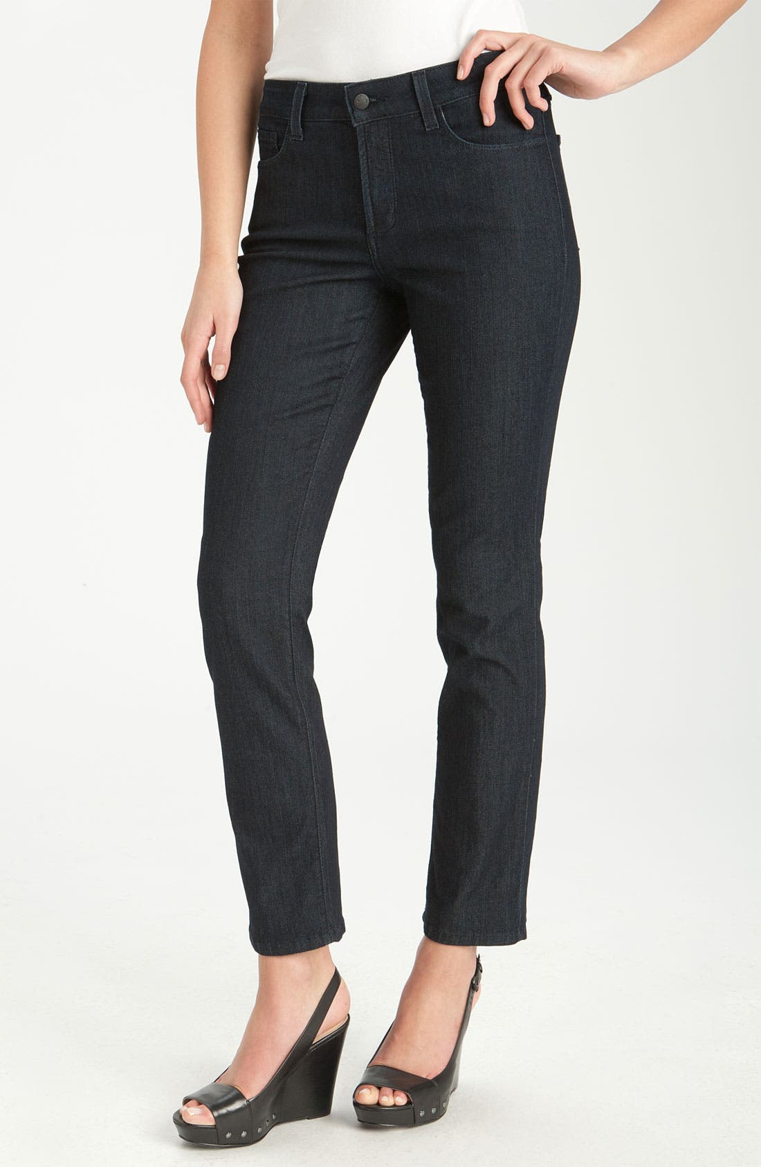 Alternate Image 1 Selected - NYDJ 'Sheri' Skinny Stretch Jeans (Petite)