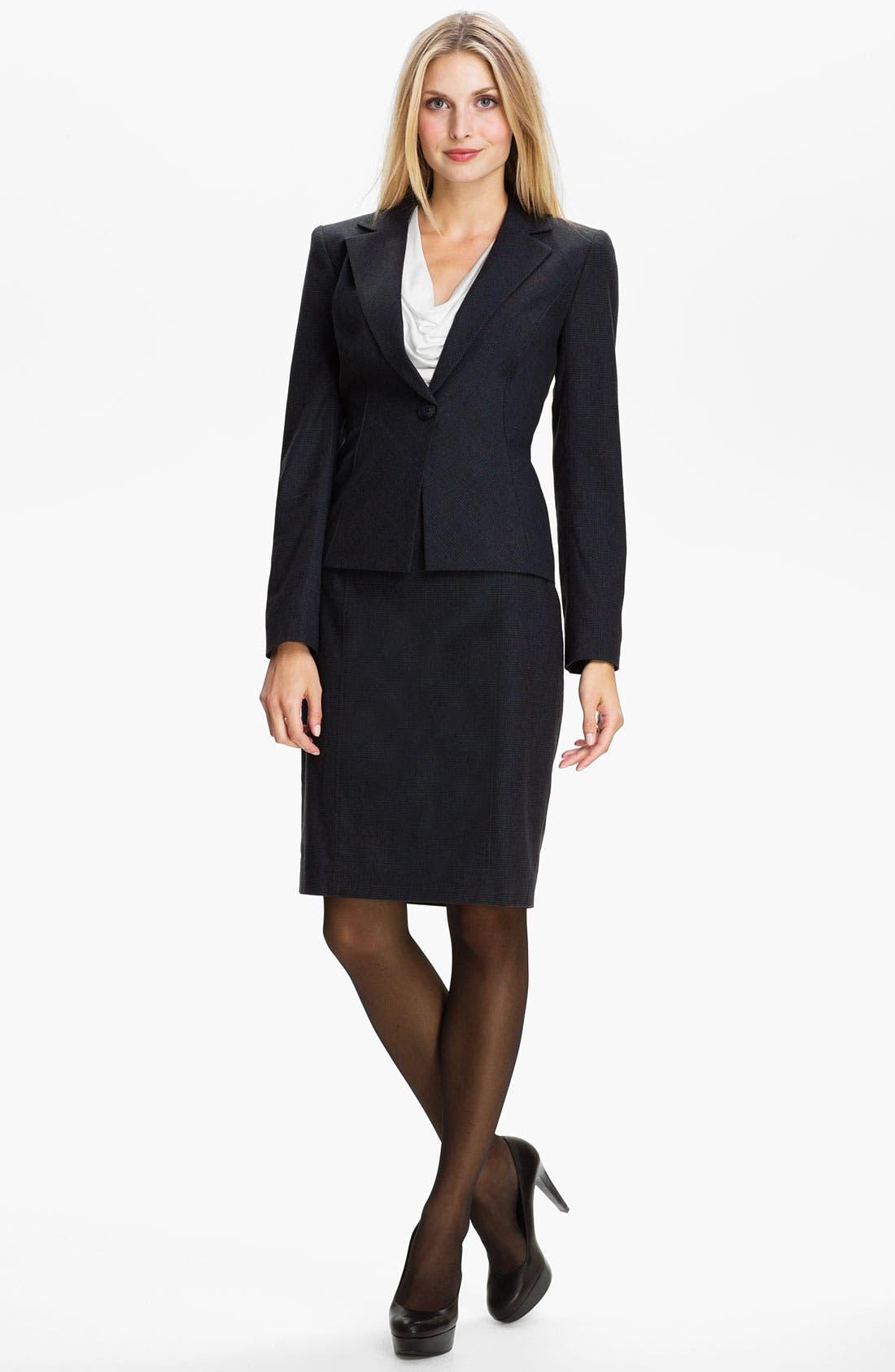 Alternate Image 4  - Classiques Entier® 'Adima Check' Skirt