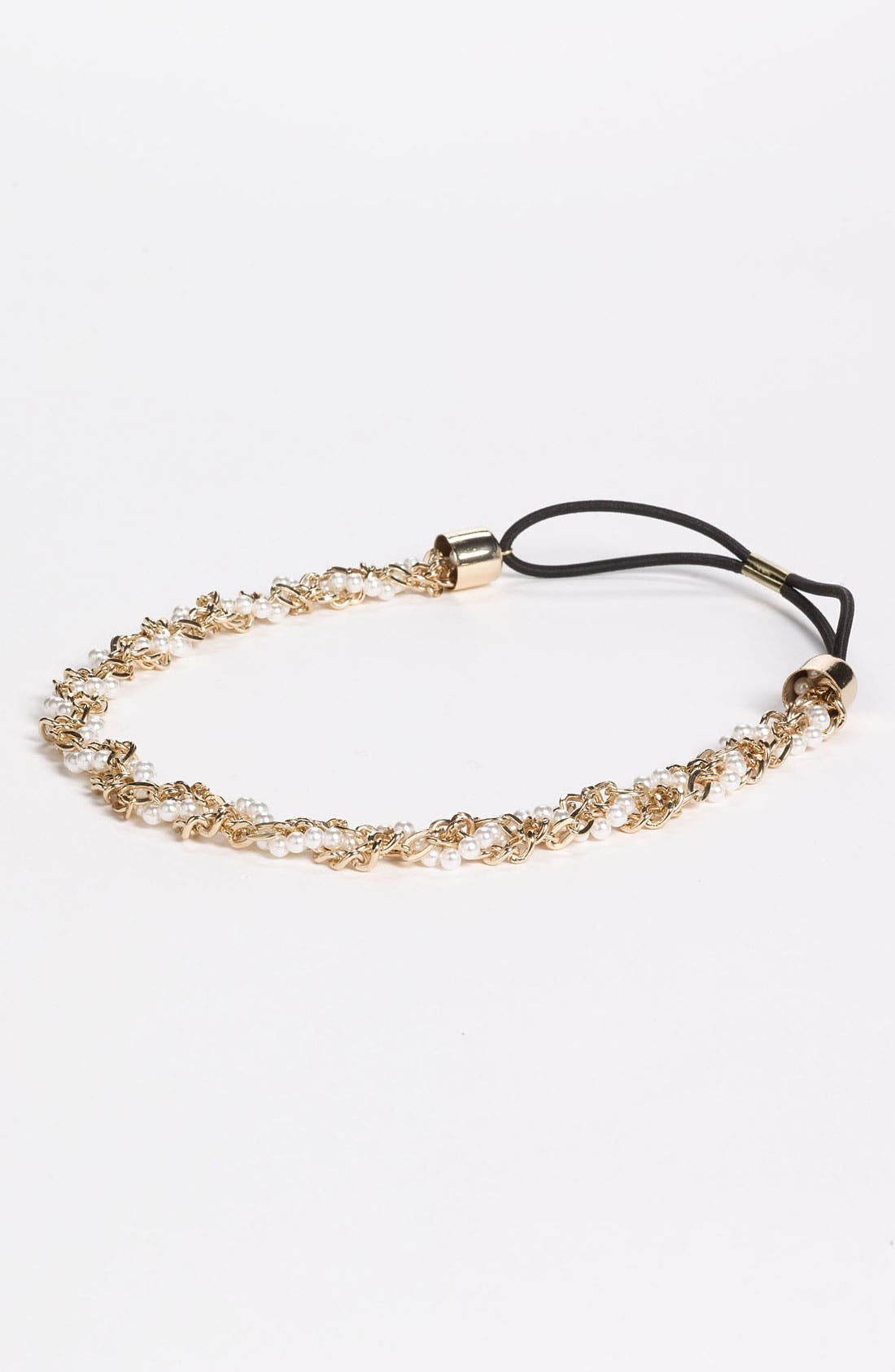 Alternate Image 1 Selected - Under One Sky Chain & Pearl Twist Headband