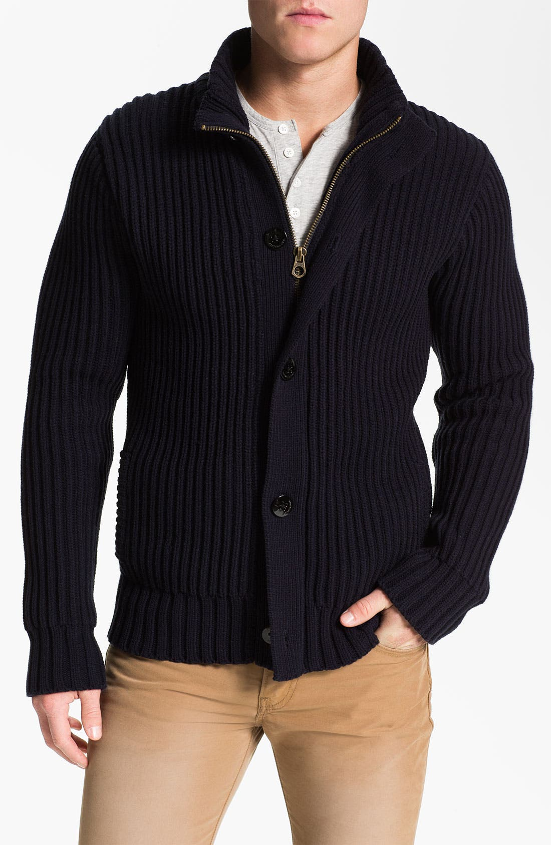 Alternate Image 4  - Scotch & Soda Sweater & Vest Combo