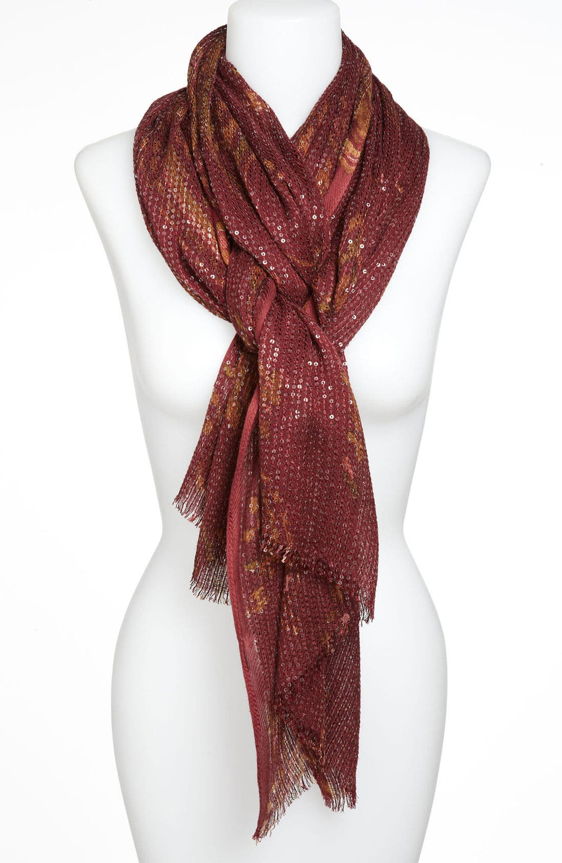 Alternate Image 1 Selected - Lauren Ralph Lauren Sequin Scarf