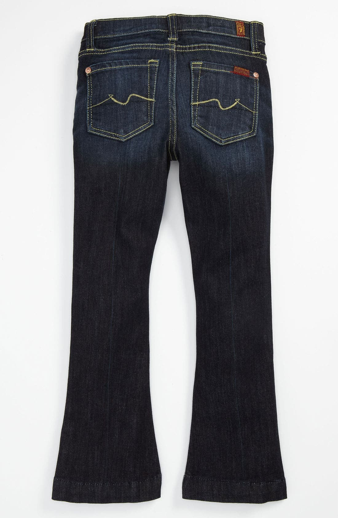 Main Image - 7 For All Mankind® 'Kaylie' Slim Fit Bootcut Jeans (Little Girls)