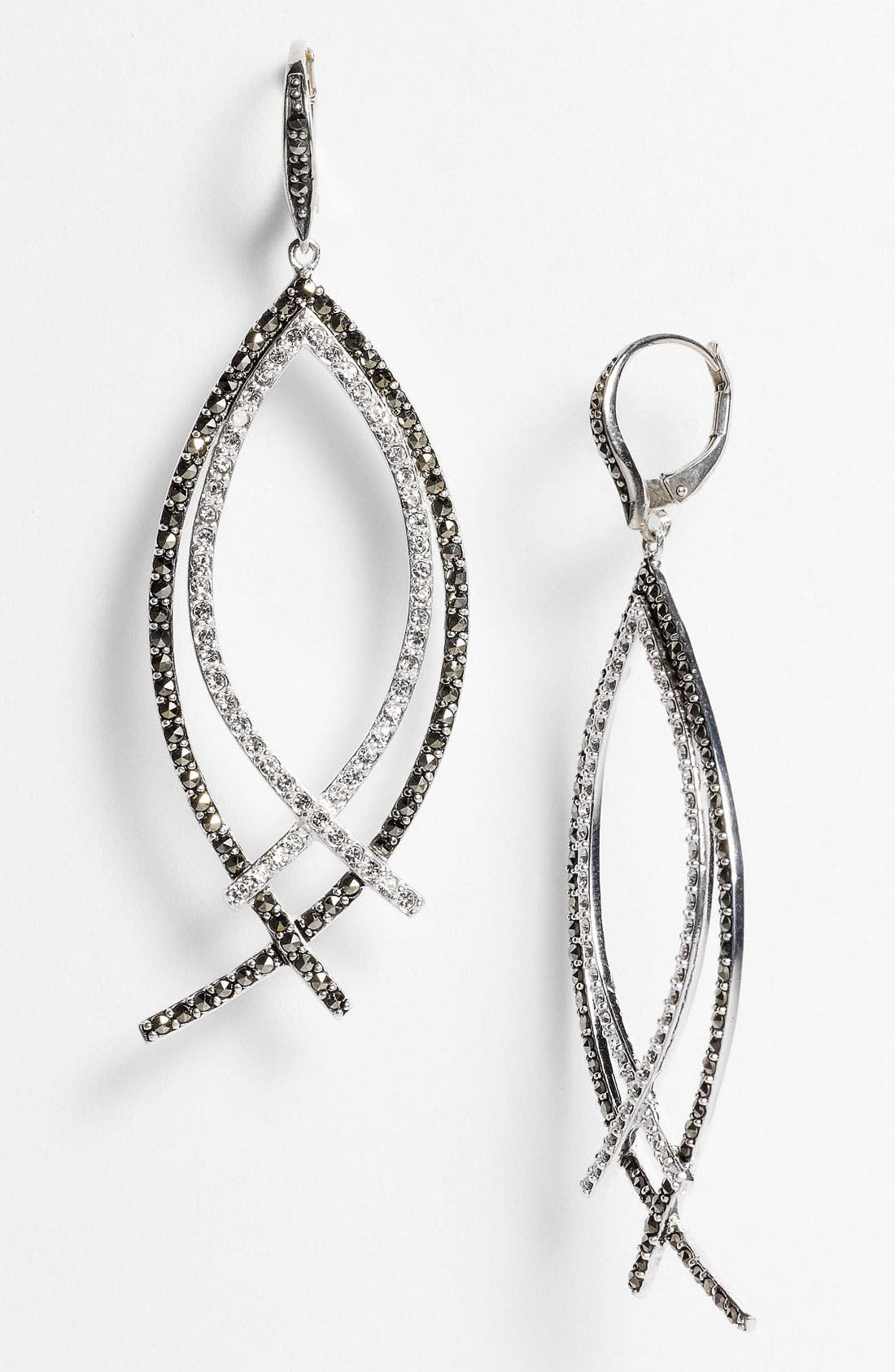 Alternate Image 1 Selected - Judith Jack 'Crystal Glitz' Drop Earrings
