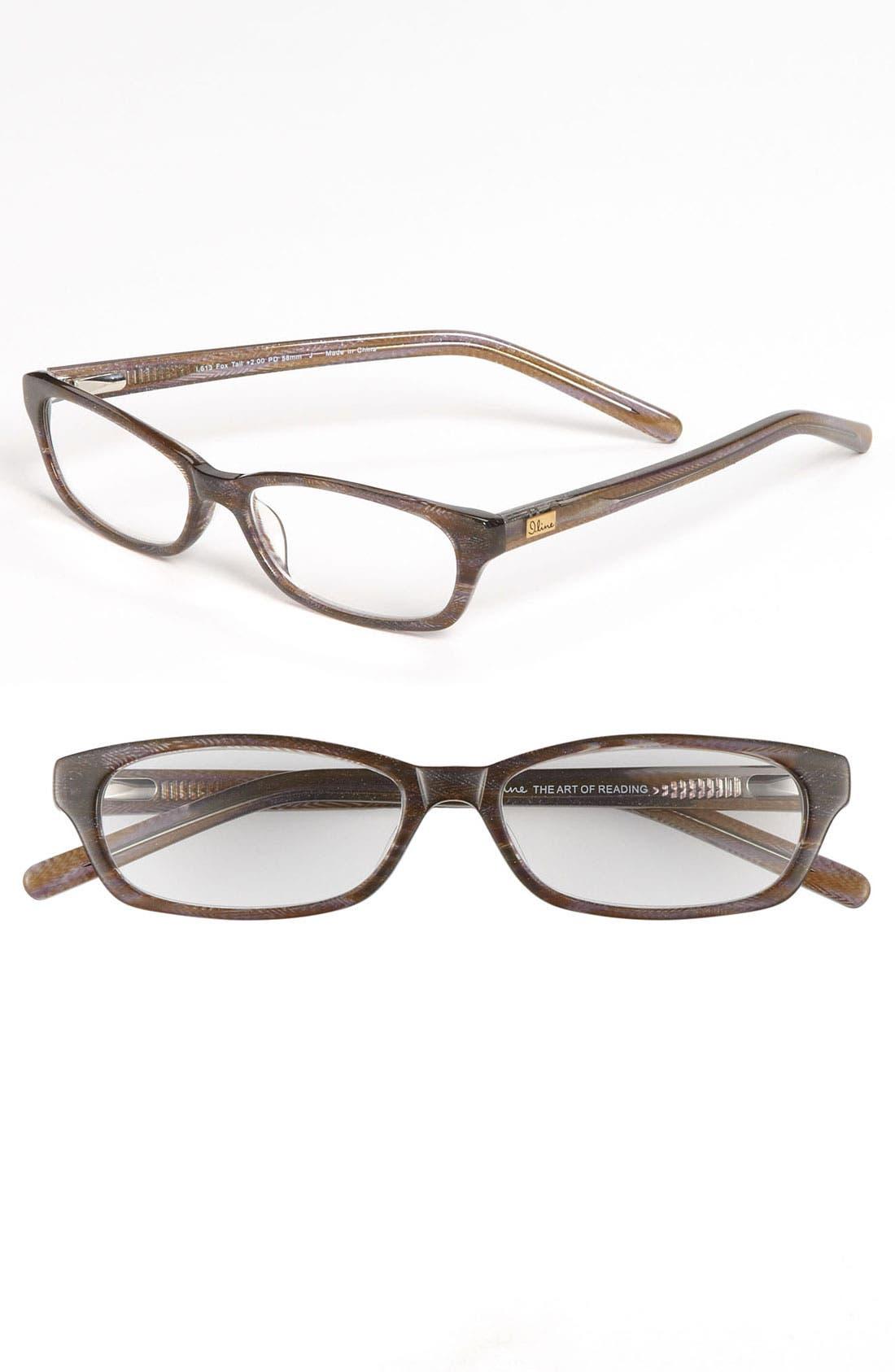 Alternate Image 1 Selected - I Line Eyewear 'Fox Tail' Reading Glasses