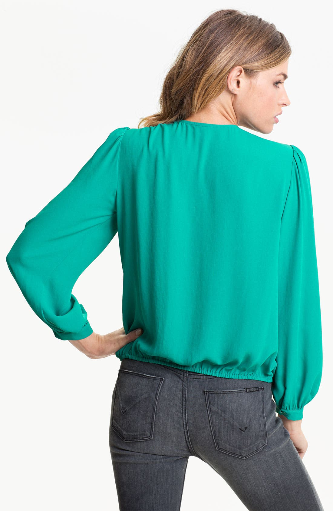 Alternate Image 2  - Bellatrix Drape Front Blouse