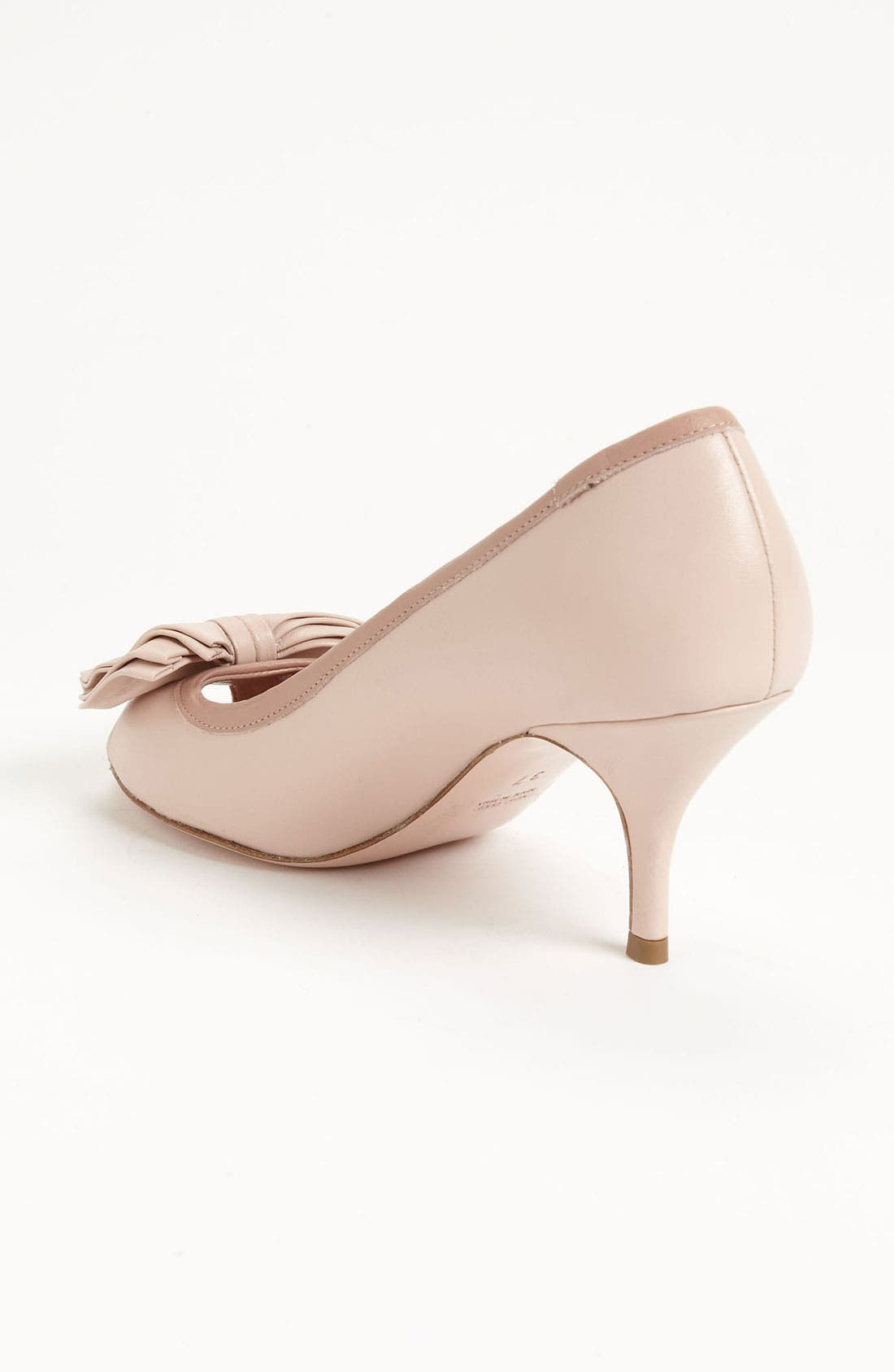 Alternate Image 2  - RED Valentino Peep Toe Pump
