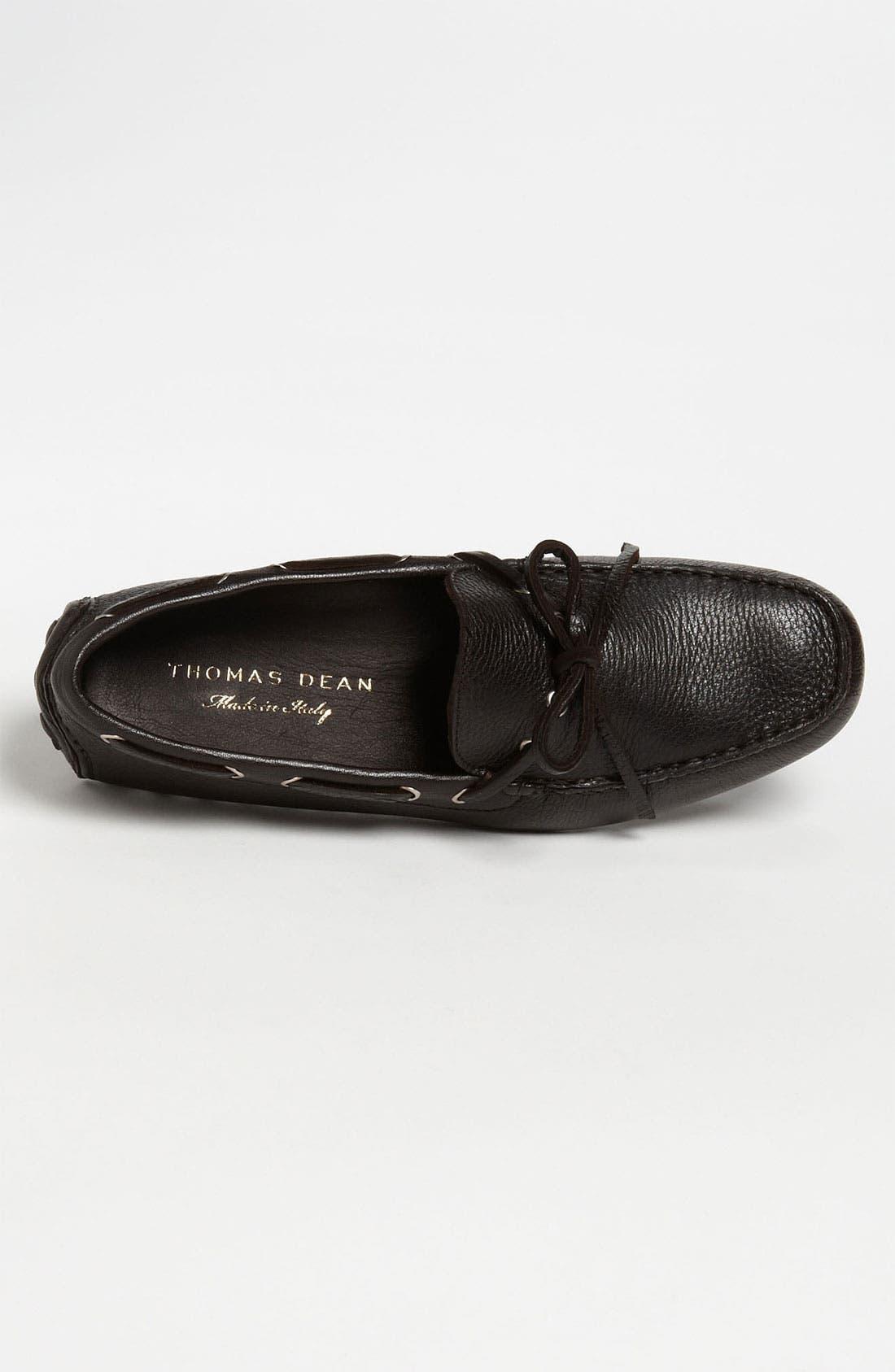 Alternate Image 2  - Thomas Dean Leather Driving Shoe