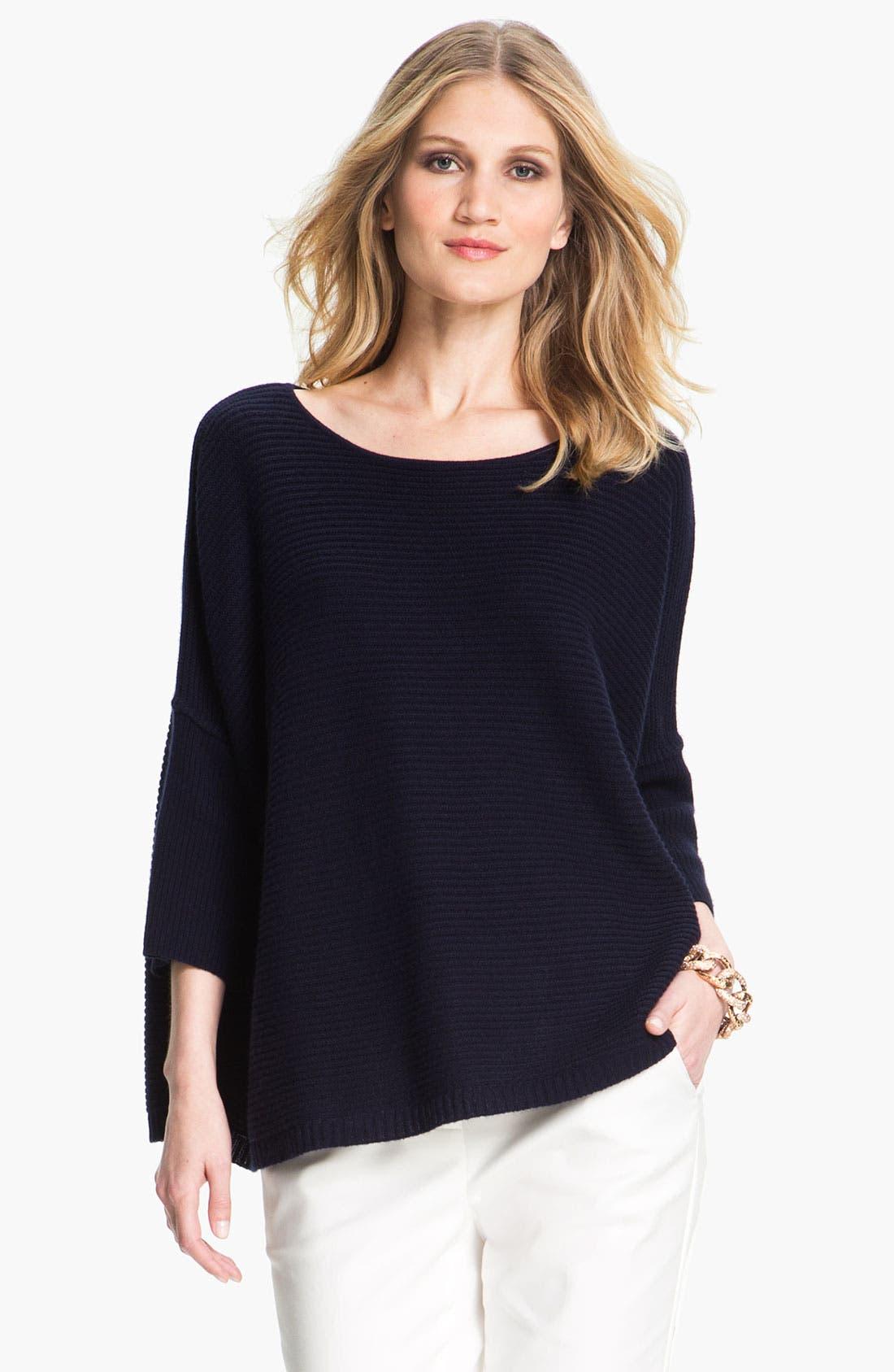 Main Image - St. John Yellow Label Ottoman Cashmere Sweater