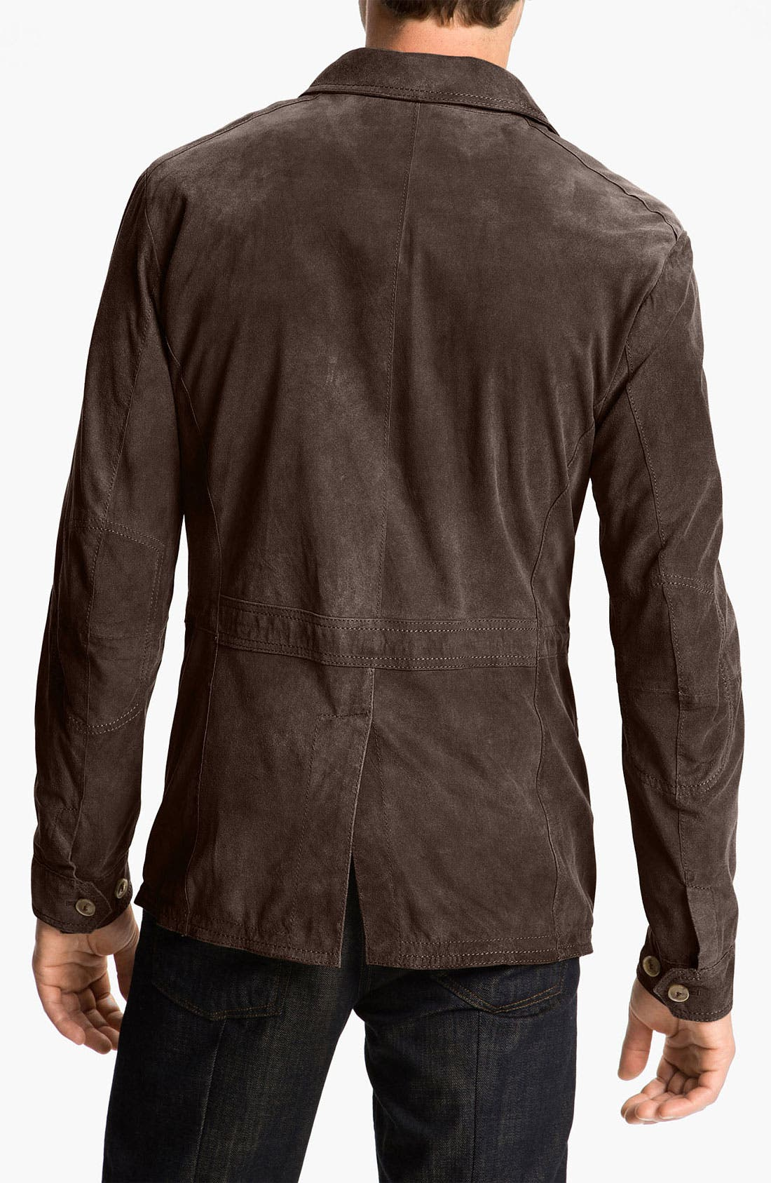 Alternate Image 2  - Gimo Suede Safari Jacket