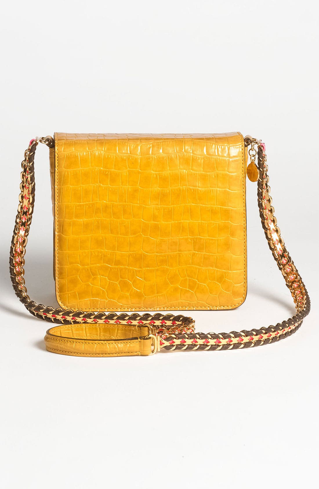 Alternate Image 4  - Stella McCartney Faux Croc Crossbody Bag