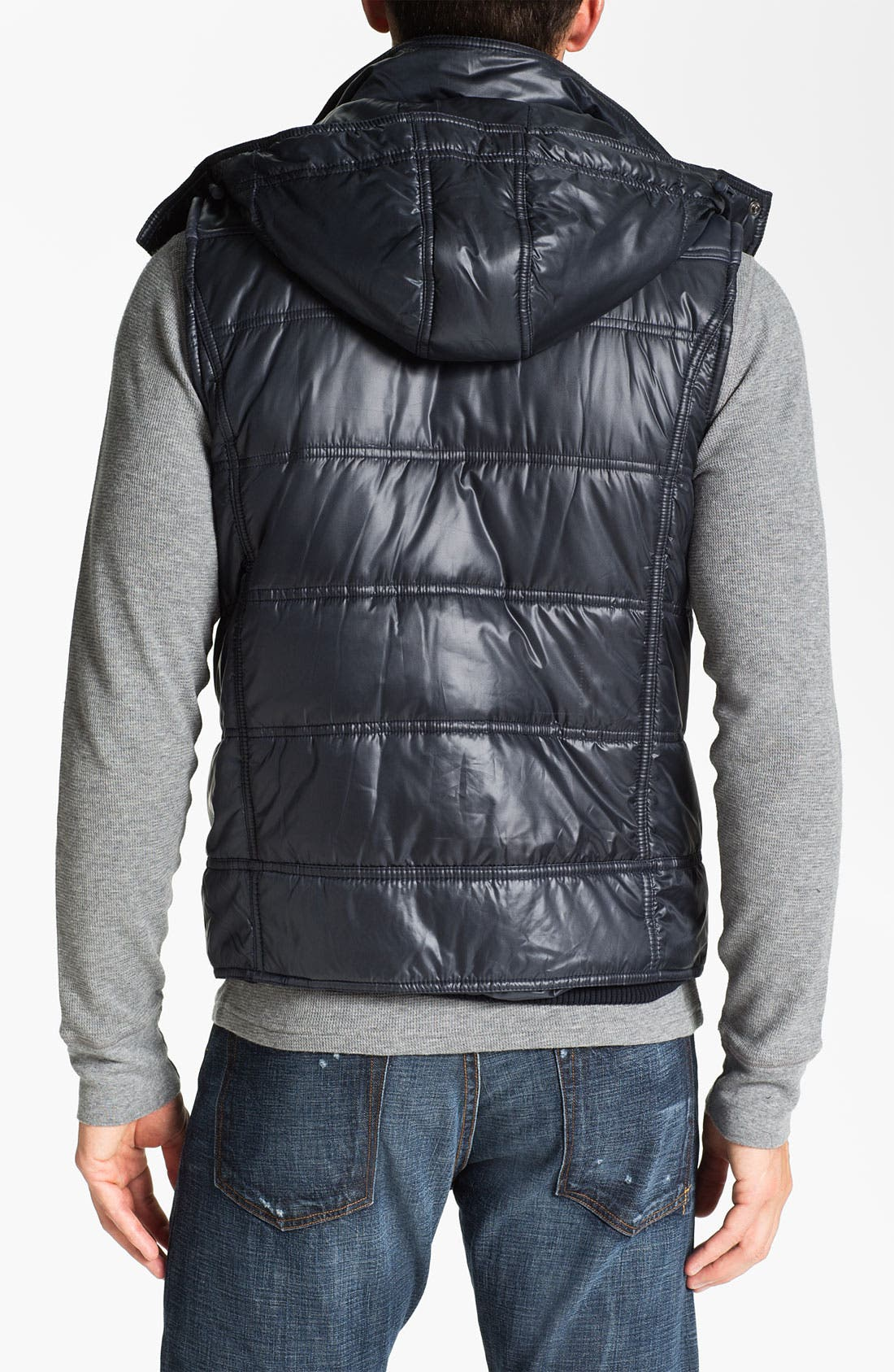 Alternate Image 2  - Paul Black Hooded Vest