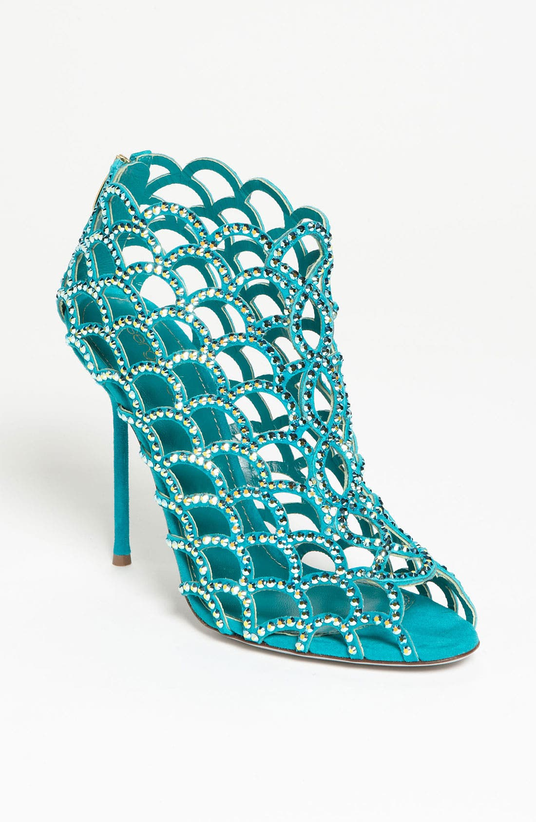 Main Image - Sergio Rossi 'Mermaid' Caged Sandal