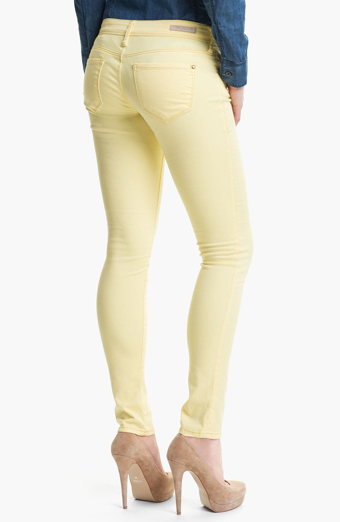 Alternate Image 2  - Mavi Jeans 'Serena' Low Rise Super Skinny Jeans (Online Exclusive)