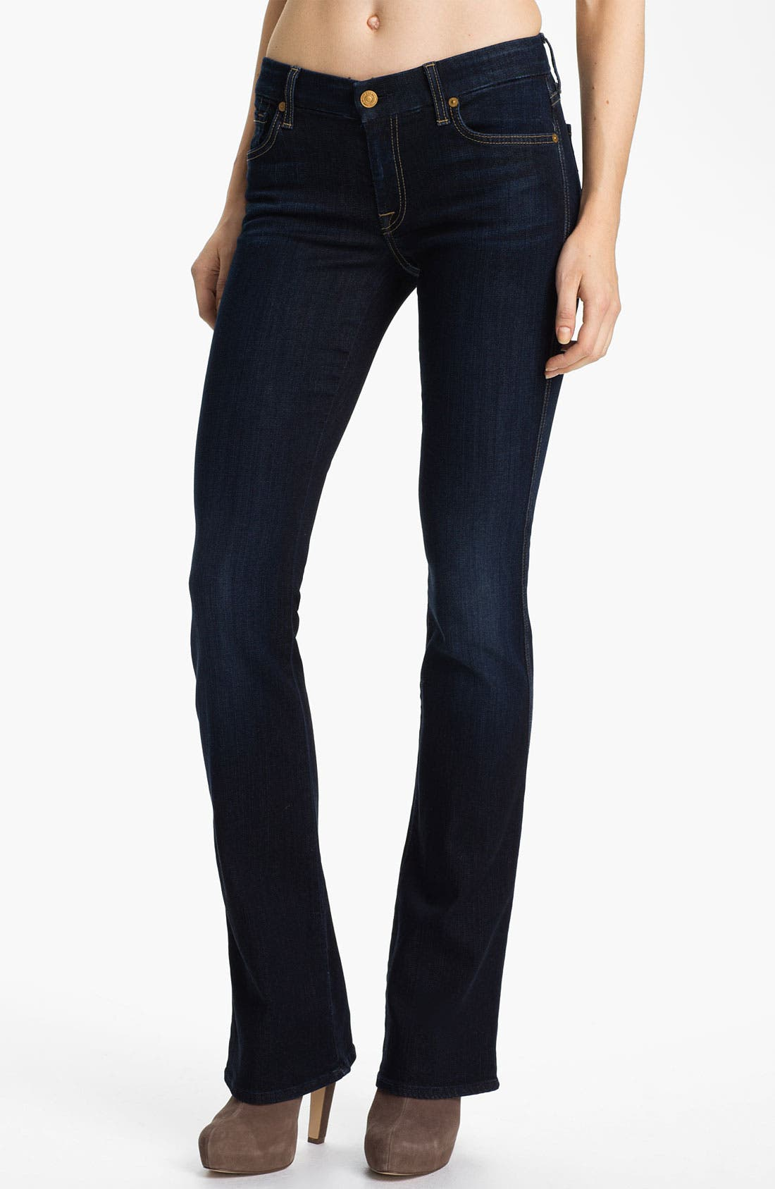 Alternate Image 1 Selected - 7 For All Mankind® A-Pocket Bootcut Jeans (Red Cast Clean)