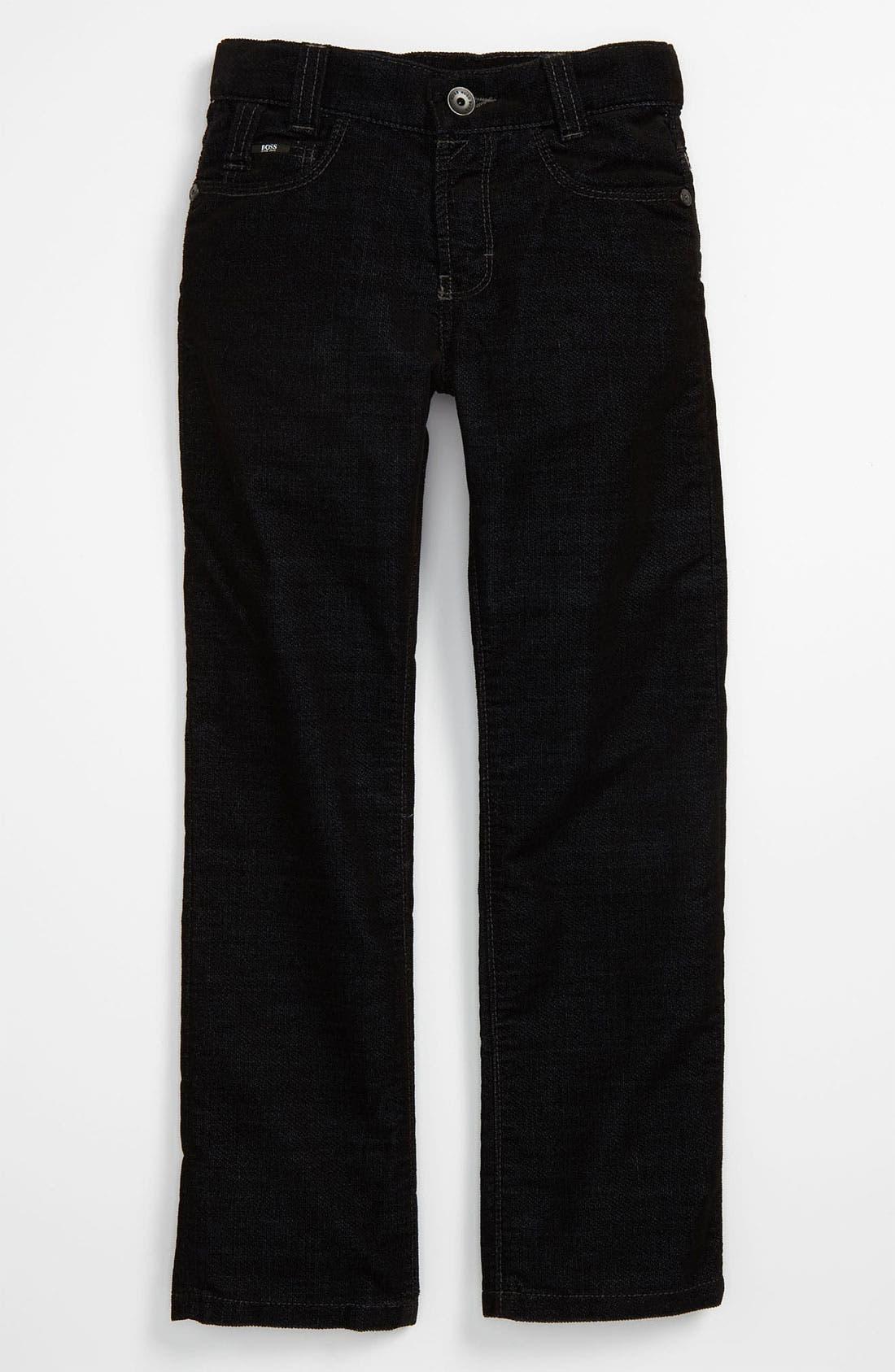 Alternate Image 2  - BOSS Kidswear Velvet Pants (Big Boys)