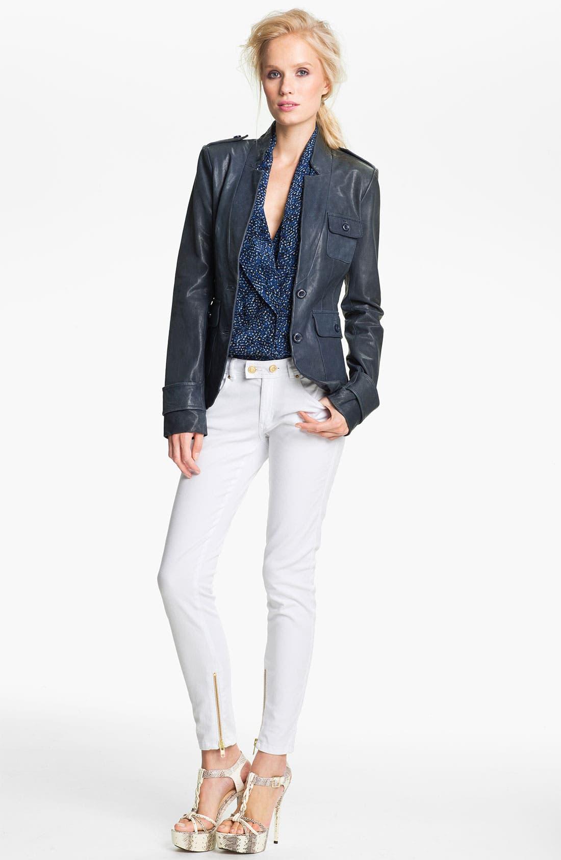 Alternate Image 1 Selected - Rachel Zoe 'Finn' Leather Jacket