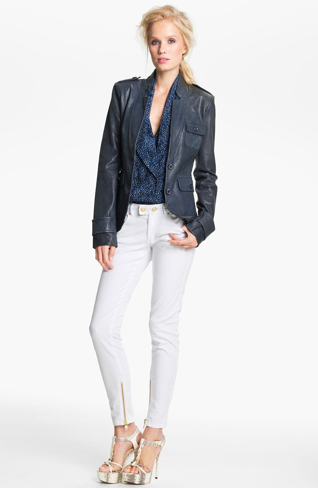 Main Image - Rachel Zoe 'Finn' Leather Jacket