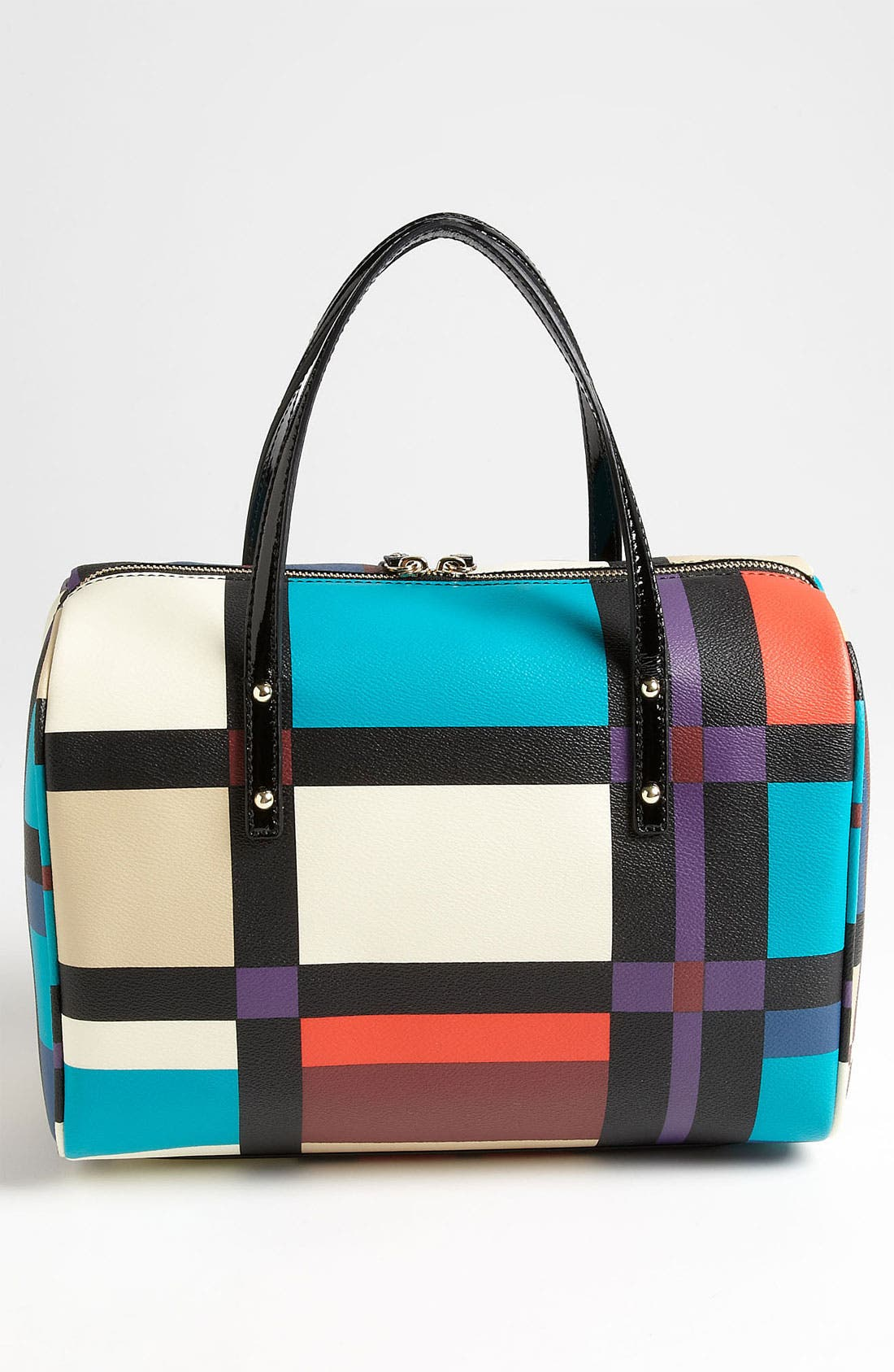 Alternate Image 4  - kate spade new york 'perry street plaid - shawna' satchel
