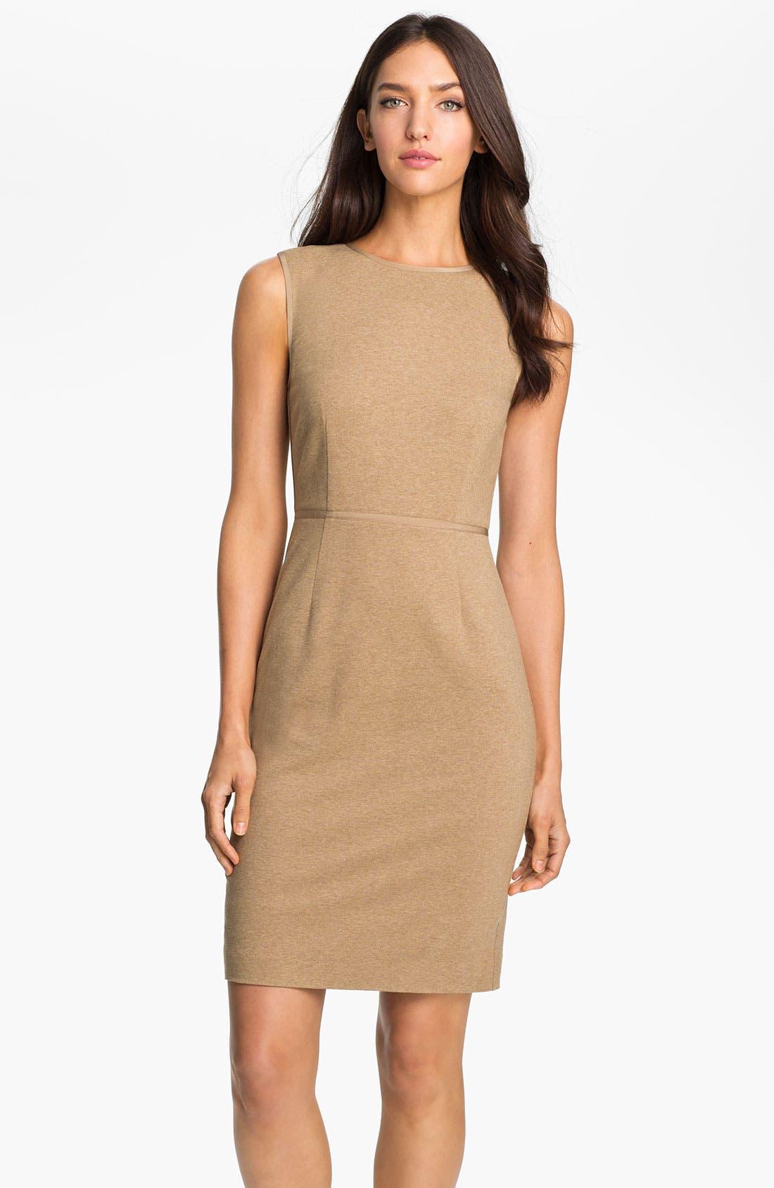 Alternate Image 1 Selected - Trina Turk 'Myrna' Knit Sheath Dress