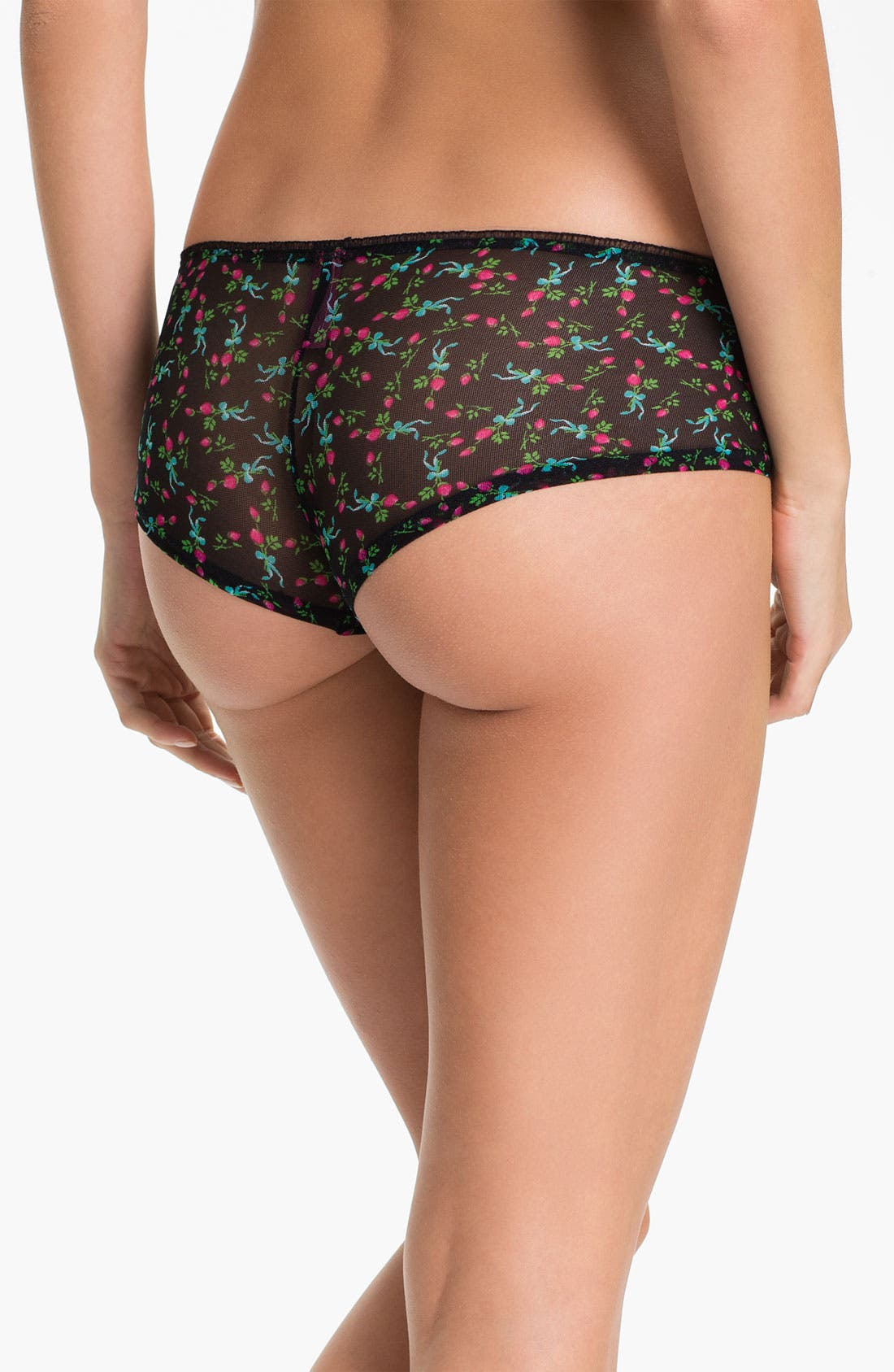 Alternate Image 2  - Betsey Johnson Low Rise Boyshorts