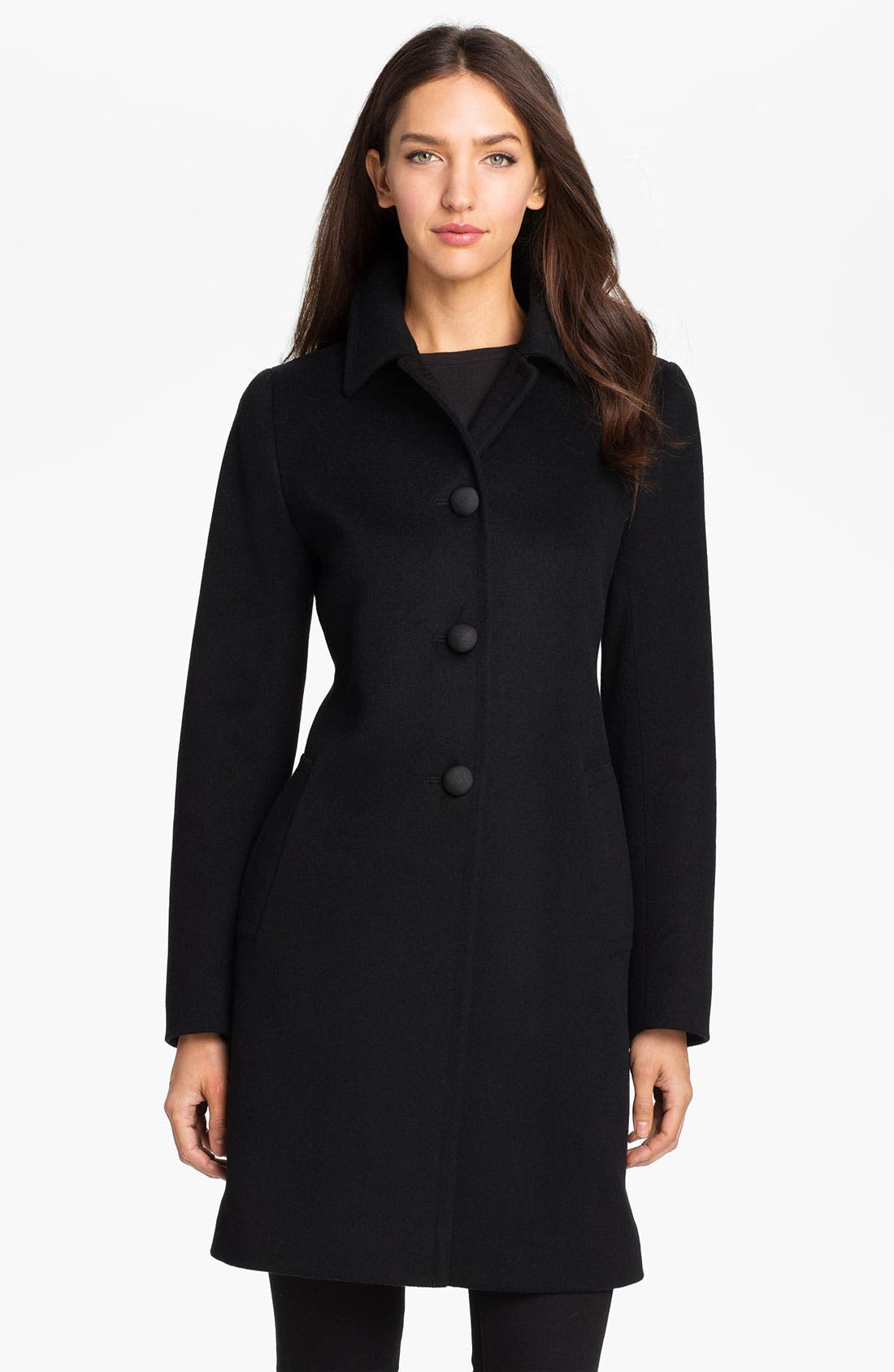 Main Image - Fleurette Loro Piana Wool Walking Coat