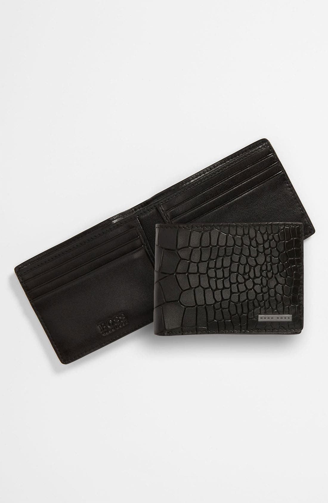 Alternate Image 1 Selected - BOSS Black 'Esimon' Wallet
