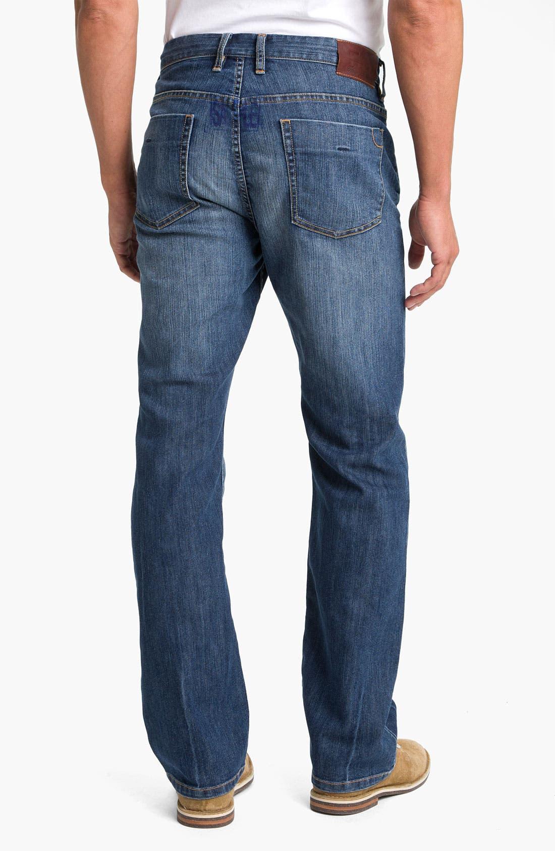 Alternate Image 2  - Tommy Bahama Denim 'Kingsly' Standard Fit Straight Leg Jeans (Medium Coastal)