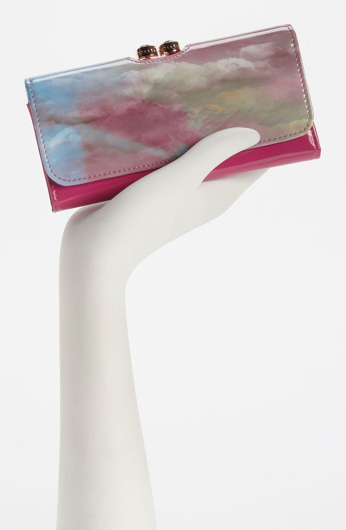 Alternate Image 2  - Ted Baker London 'Moody Sunset - Crystal Bobble' Matinee Wallet