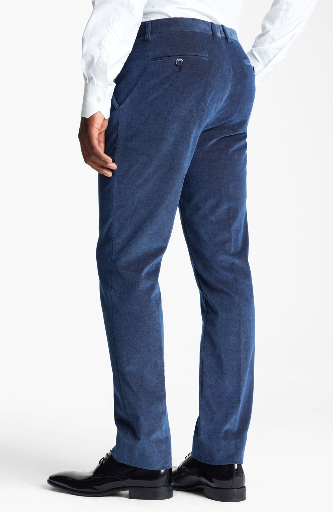 Alternate Image 2  - Etro Slim Fit Corduroy Pants
