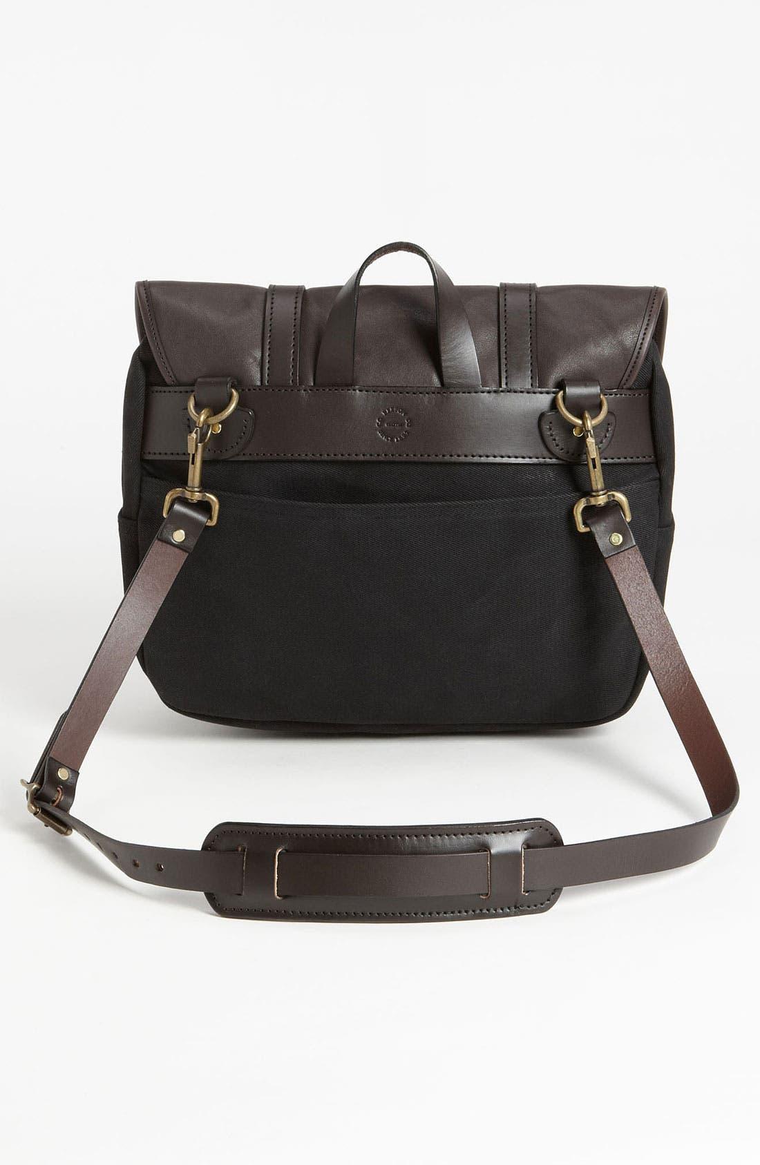 Alternate Image 4  - Filson Medium Twill & Leather Field Bag