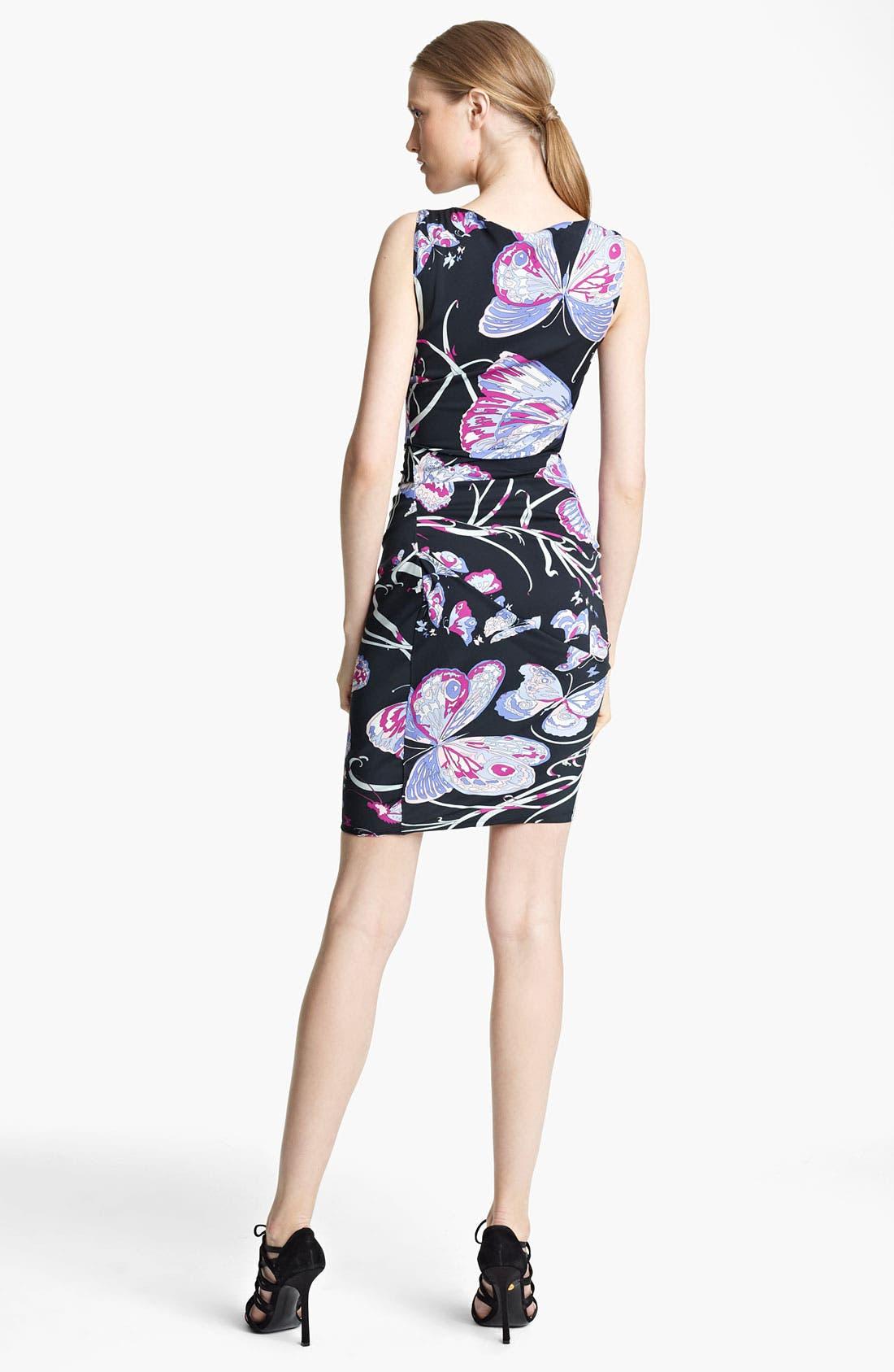 Alternate Image 2  - Emilio Pucci Ruched Double Stretch Georgette Dress
