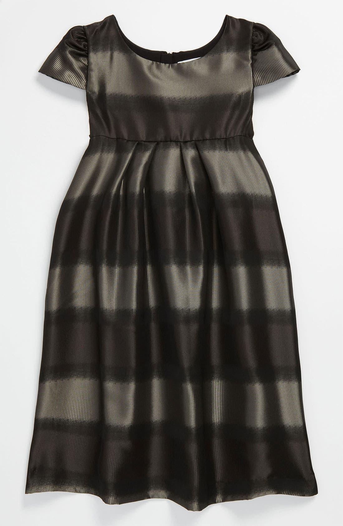 Main Image - Burberry Cap Sleeve Dress (Little Girls & Big Girls)