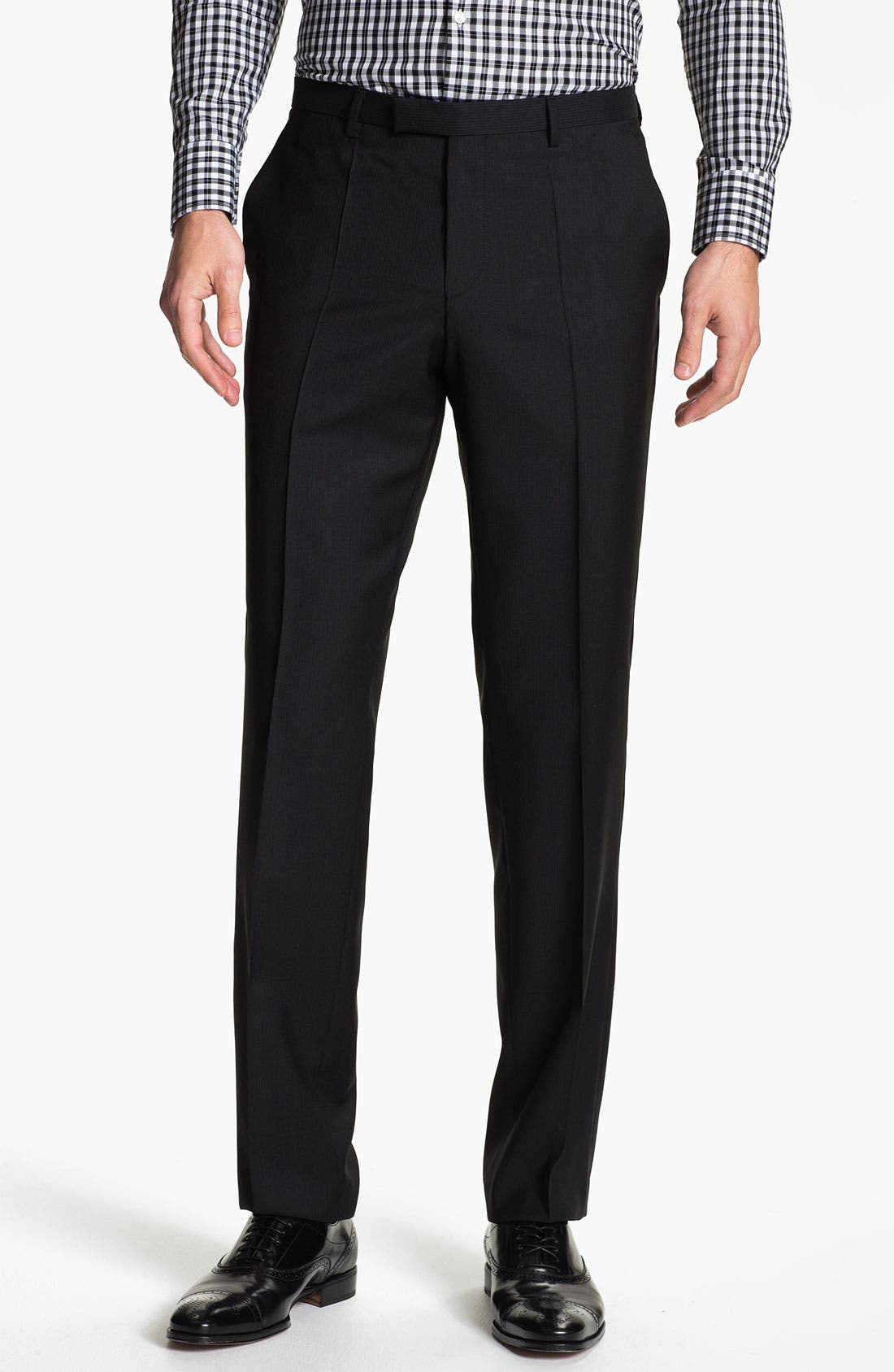 Alternate Image 4  - BOSS Black 'Jam/Sharp' Trim Fit Stripe Suit