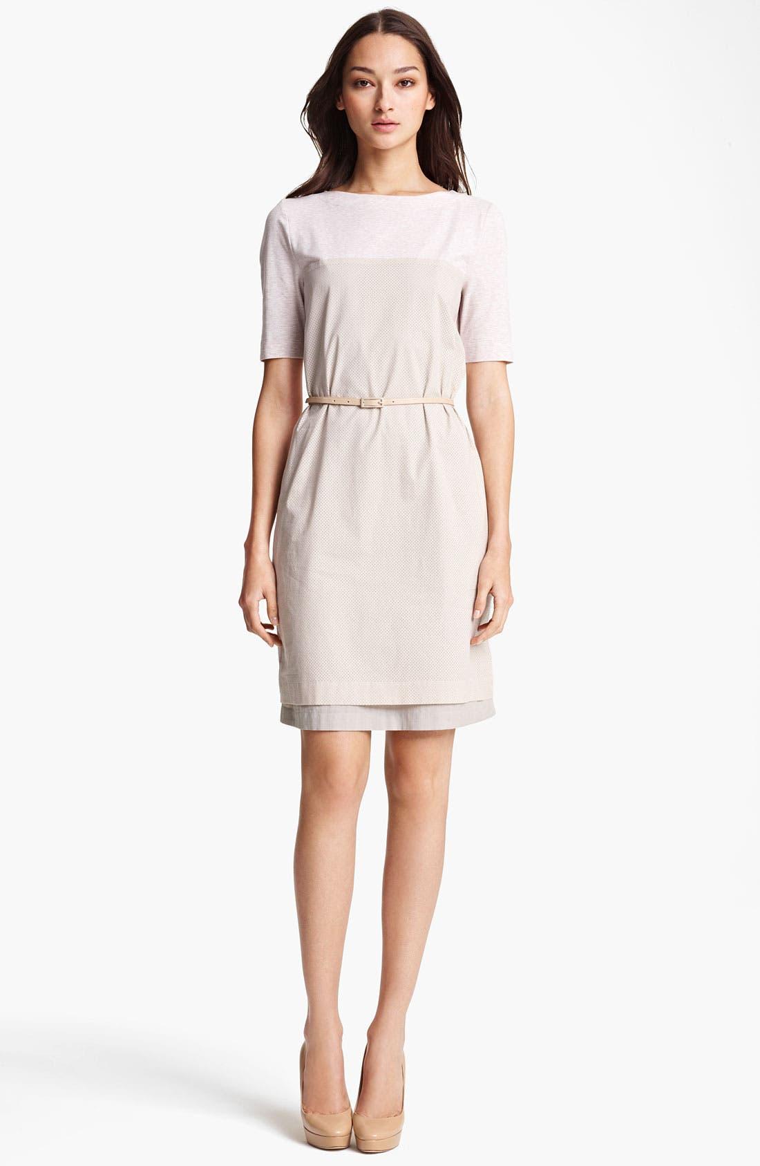 Alternate Image 1 Selected - Fabiana Filippi Belted Jersey Dress