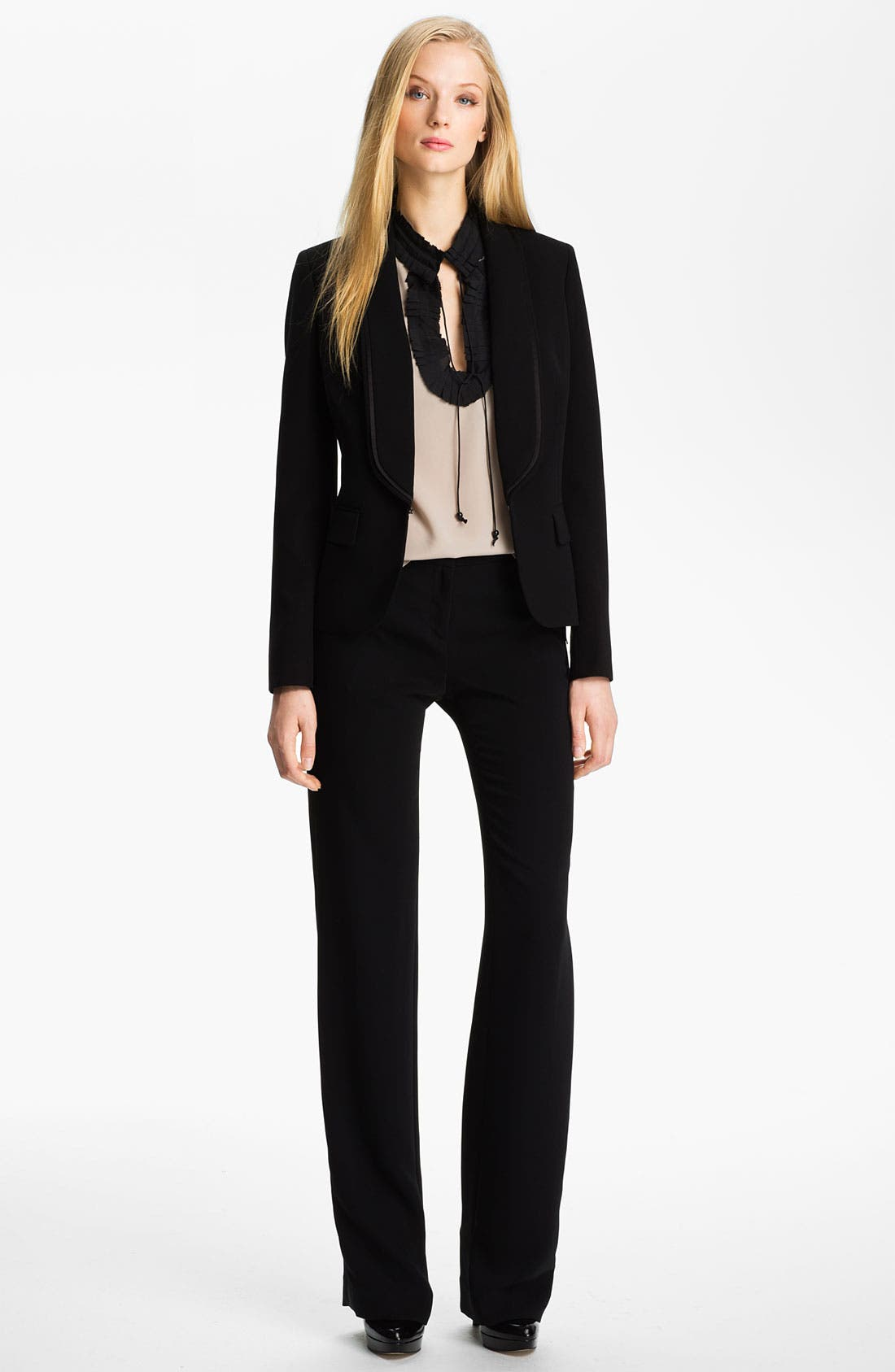 Alternate Image 4  - Anne Klein Tuxedo Jacket (Petite)