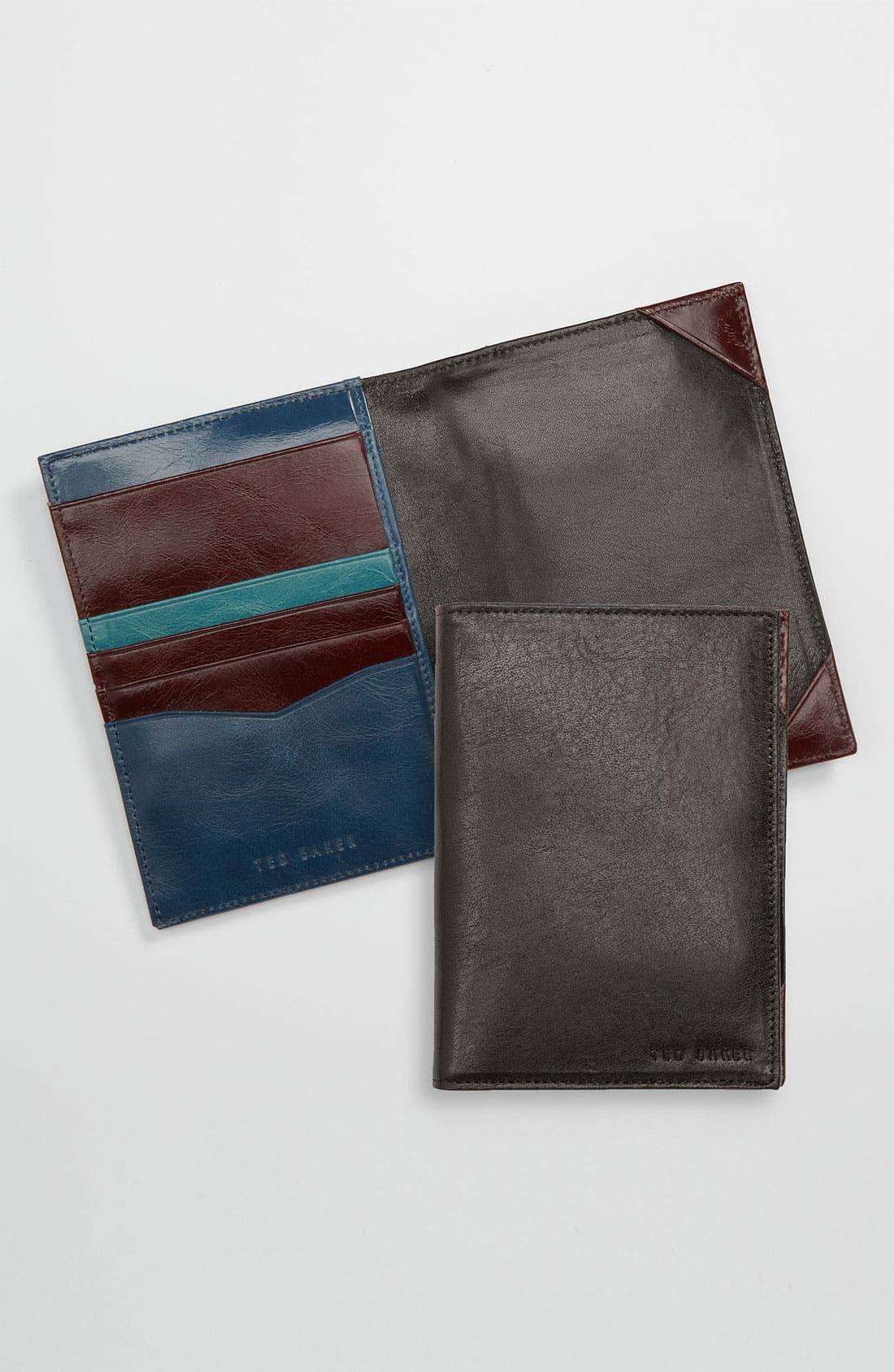 Alternate Image 1 Selected - Ted Baker London 'Passdoc' Passport Wallet