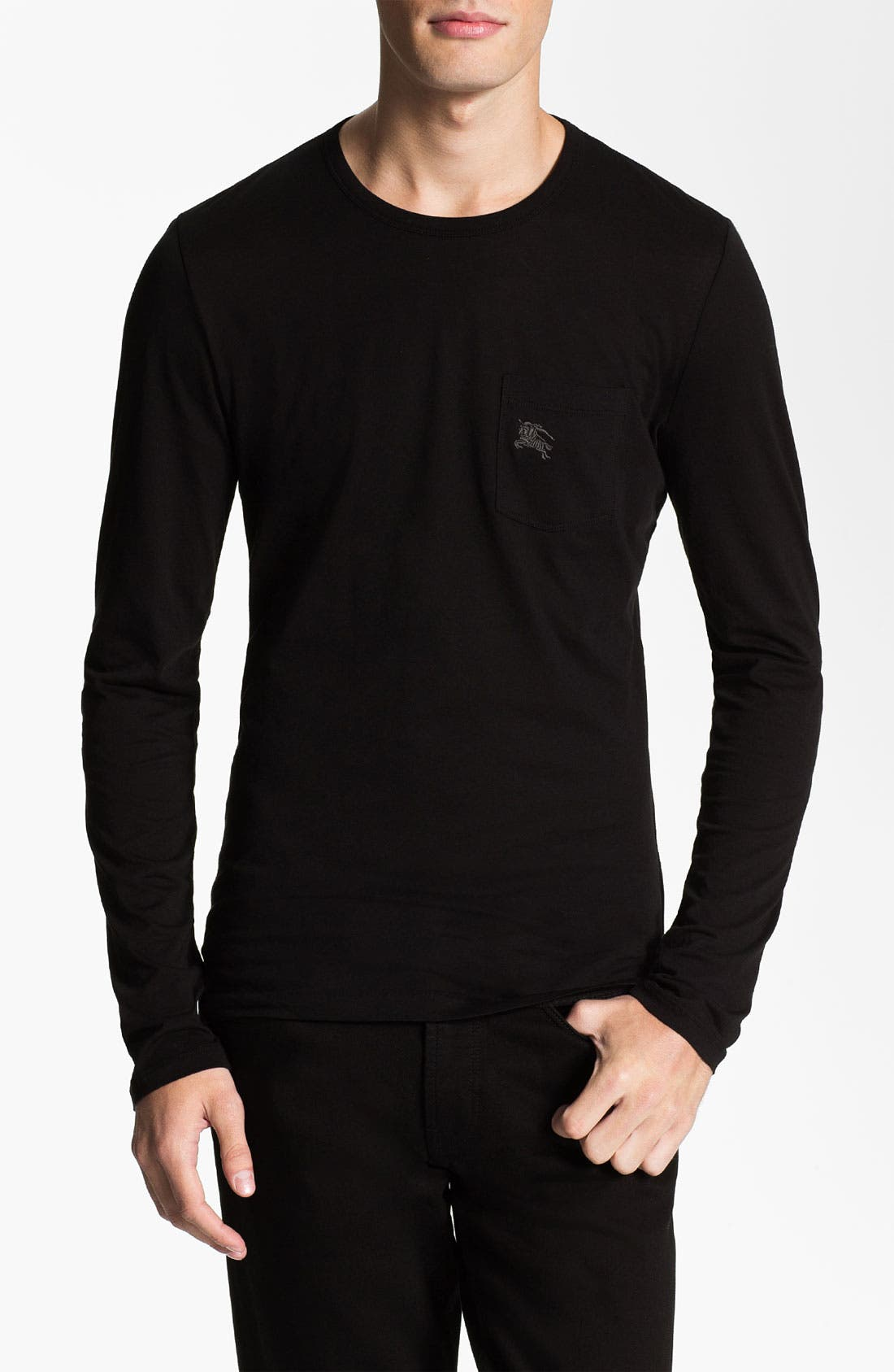 Main Image - Burberry Brit Crewneck T-Shirt